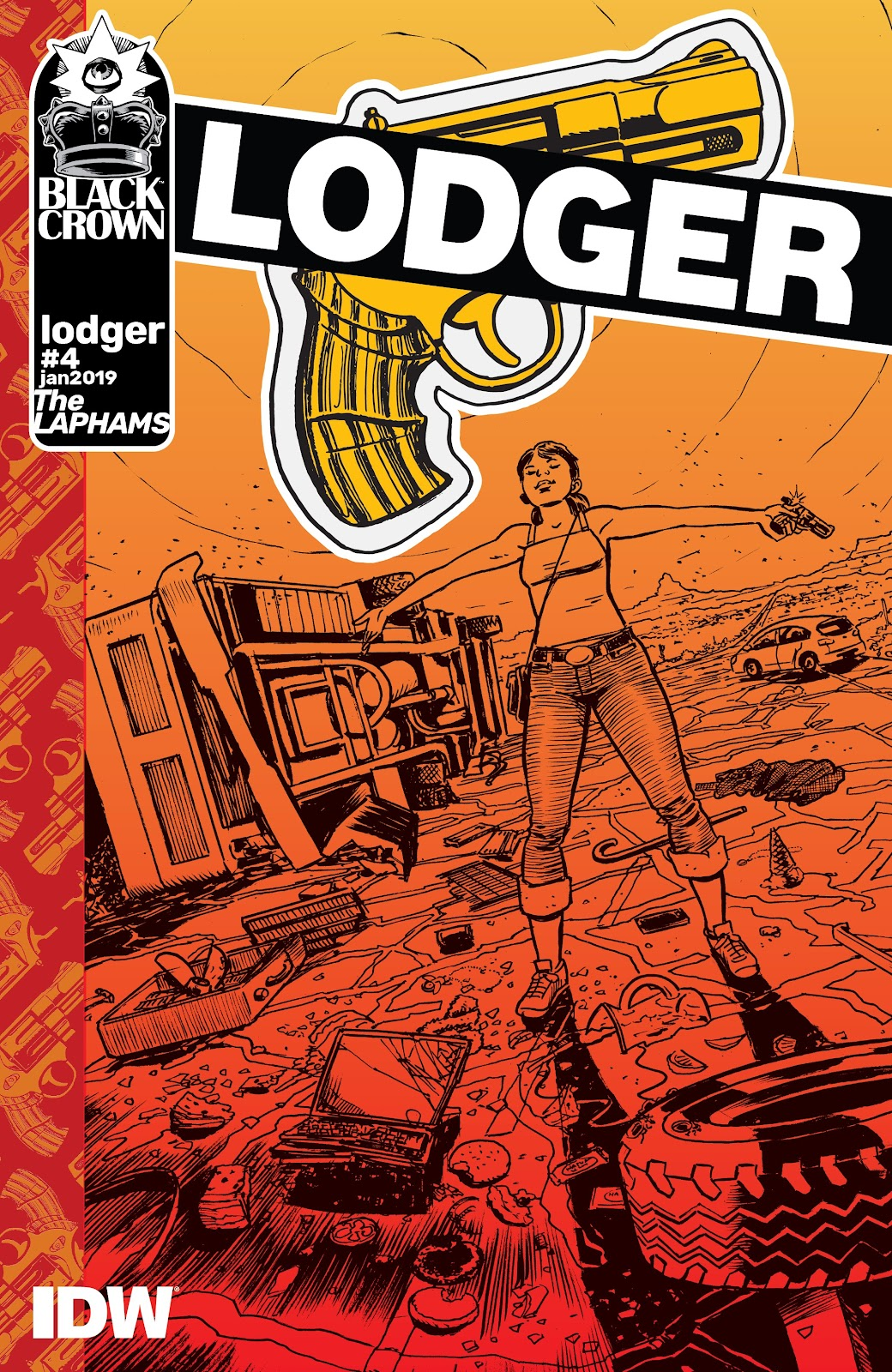 Read online Lodger comic -  Issue #4 - 1