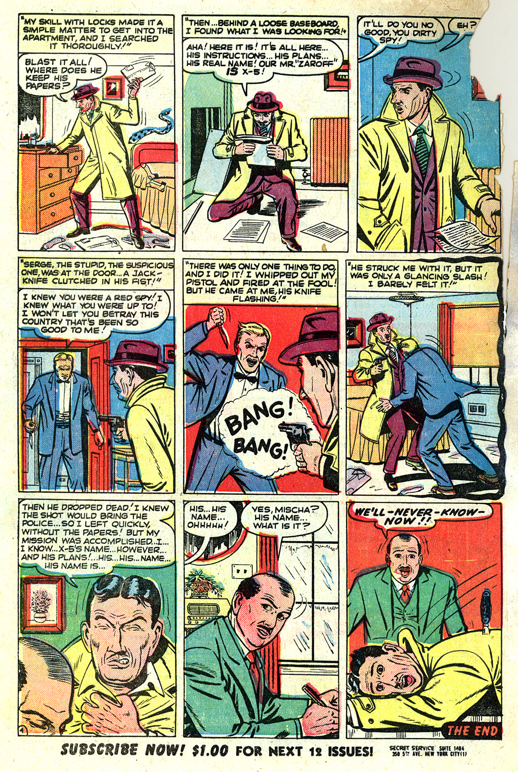 Kent Blake of the Secret Service issue 1 - Page 32