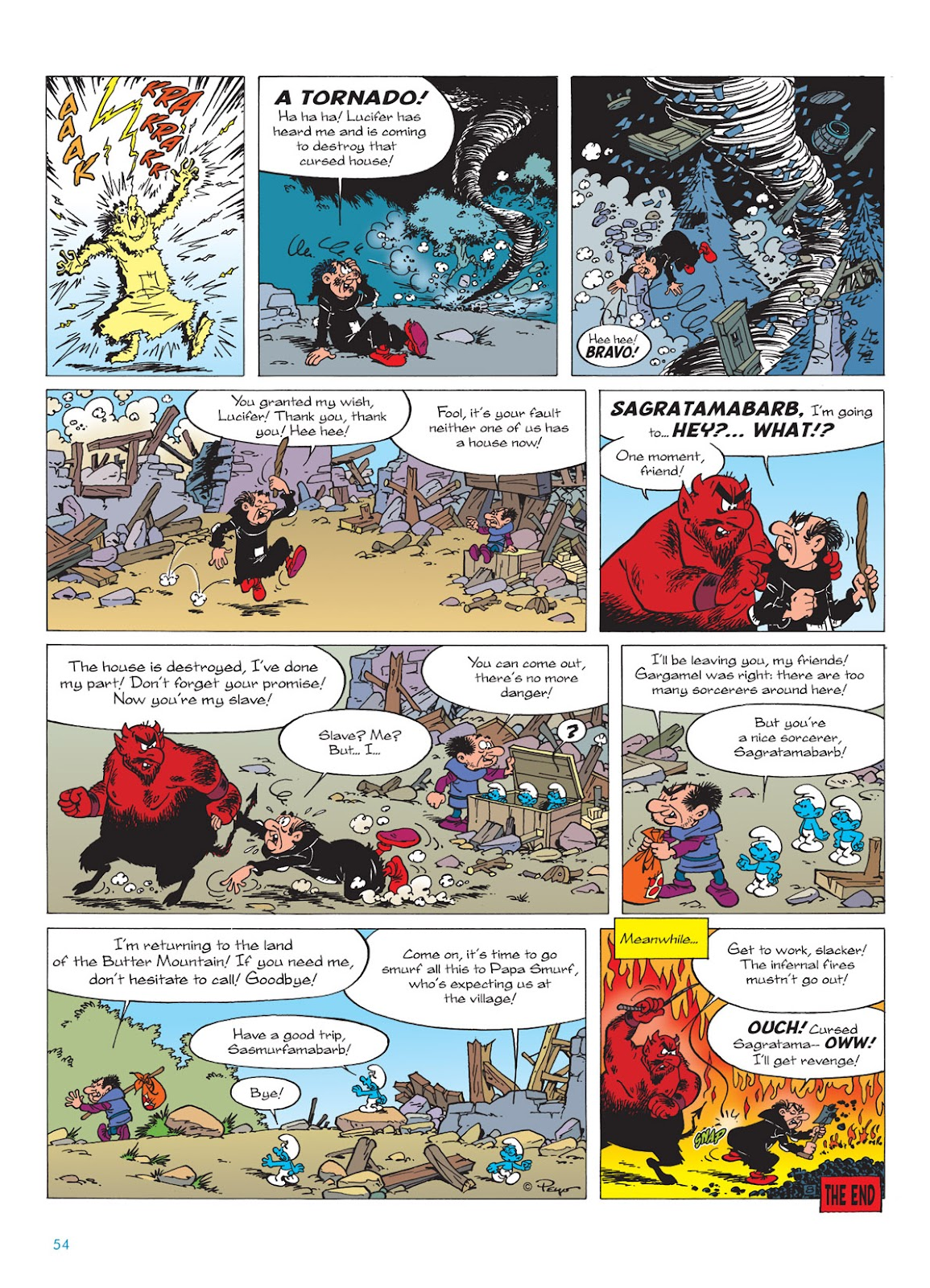 Read online The Smurfs comic -  Issue #9 - 54