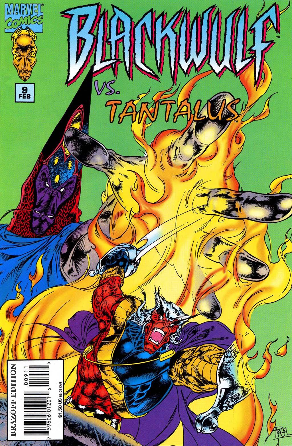Read online Blackwulf comic -  Issue #9 - 1