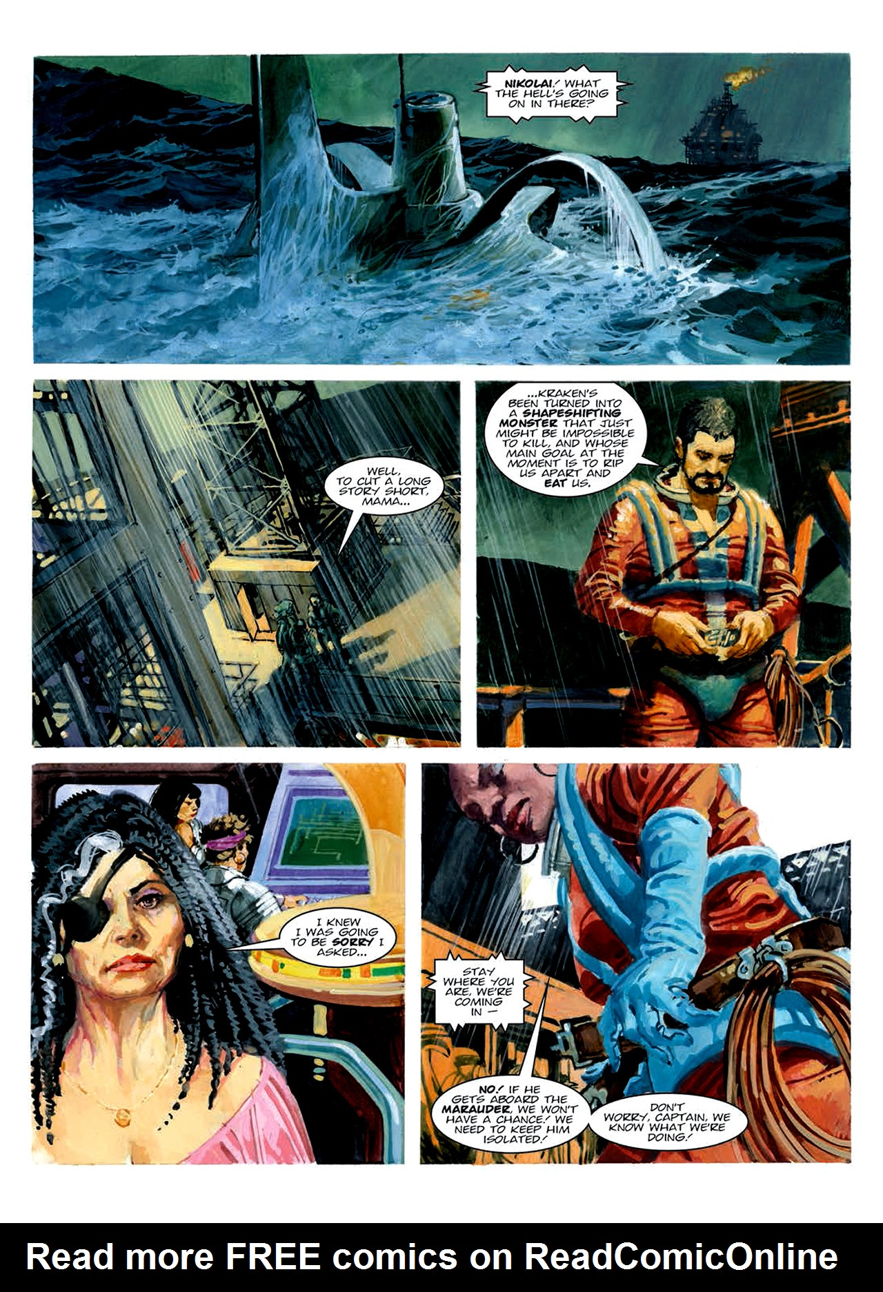 Read online Nikolai Dante comic -  Issue # TPB 6 - 192