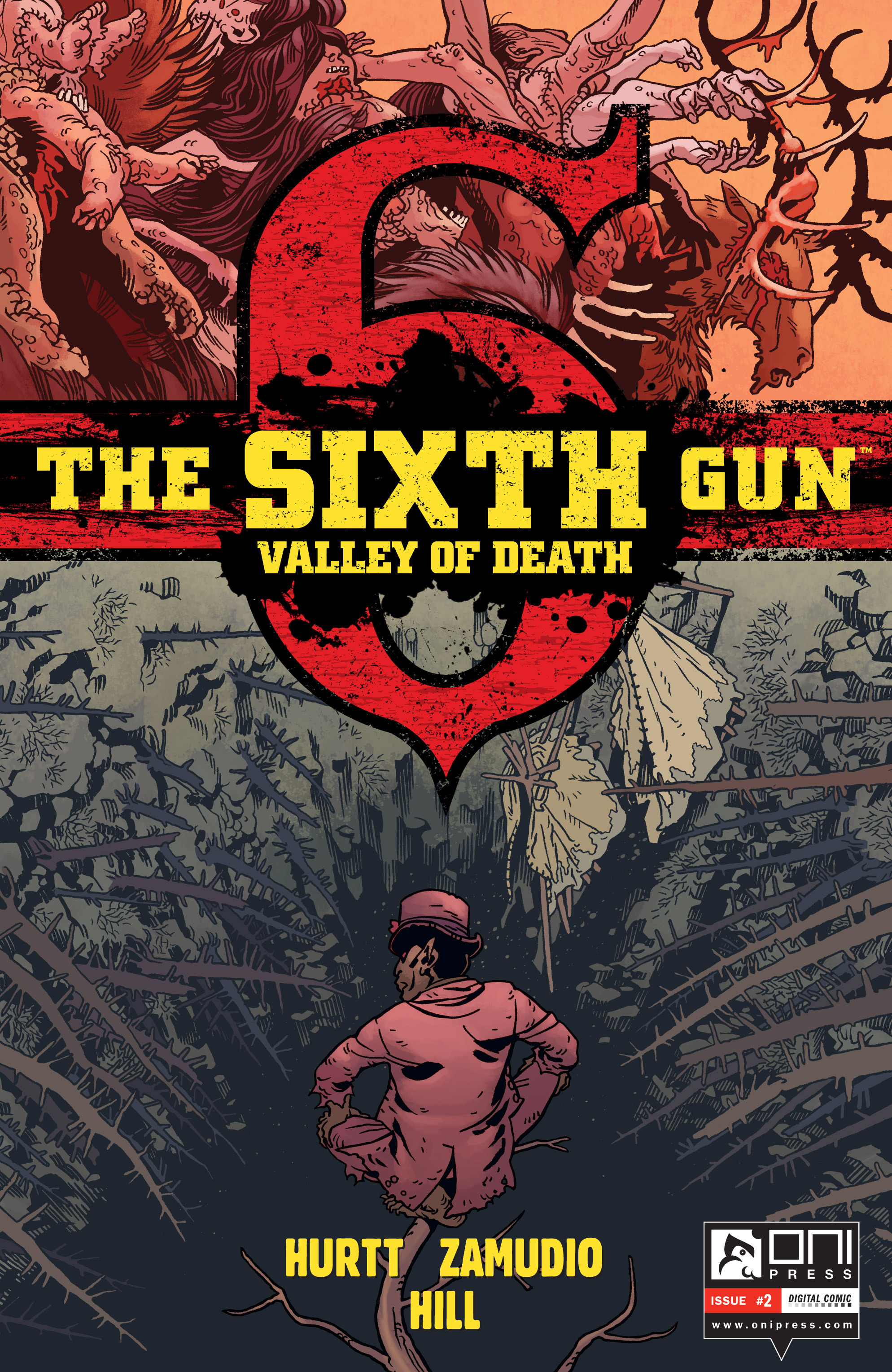 The Sixth Gun: Valley of Death 2 Page 1