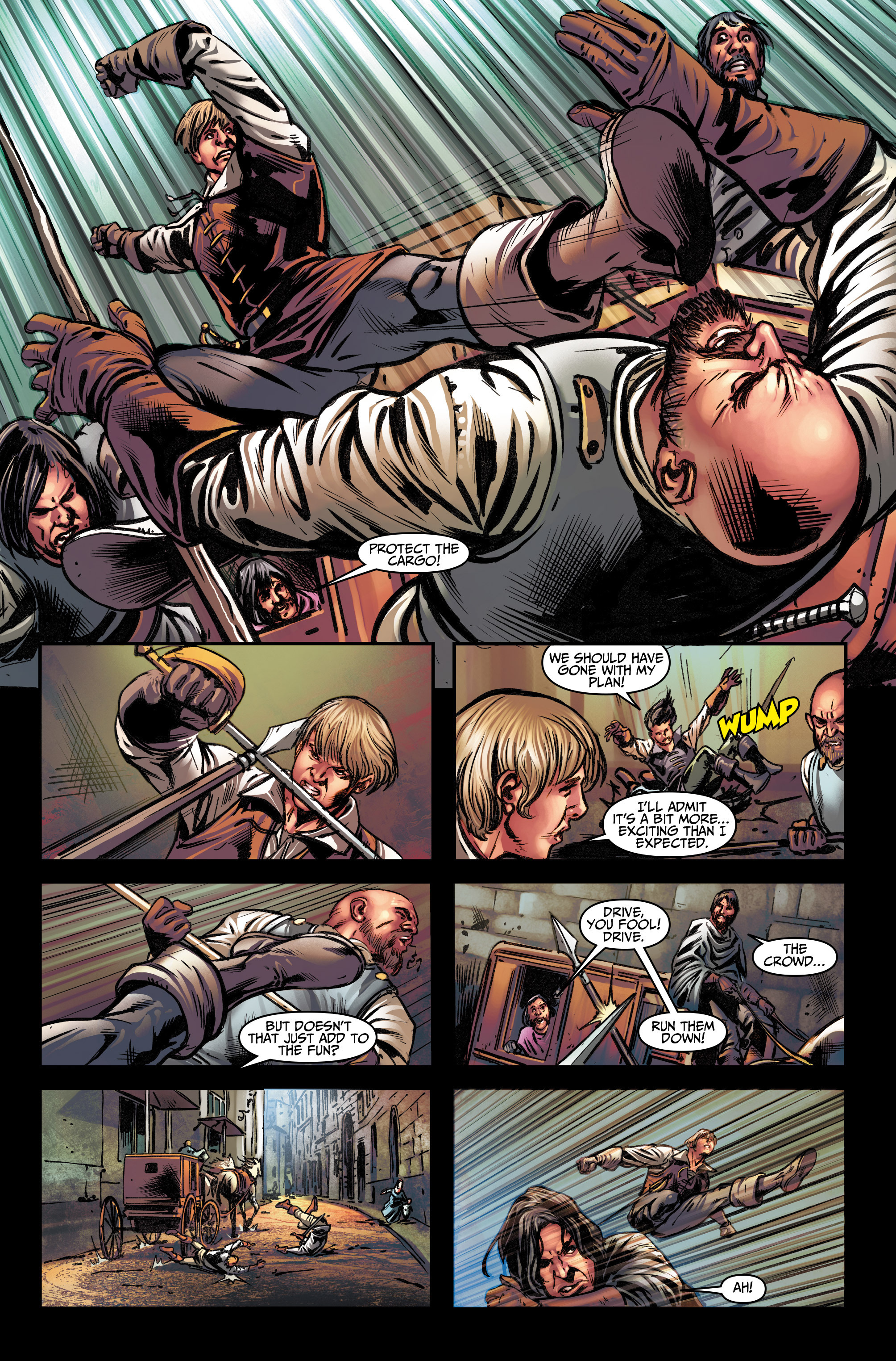 Read online Assassin's Creed (2015) comic -  Issue #13 - 6