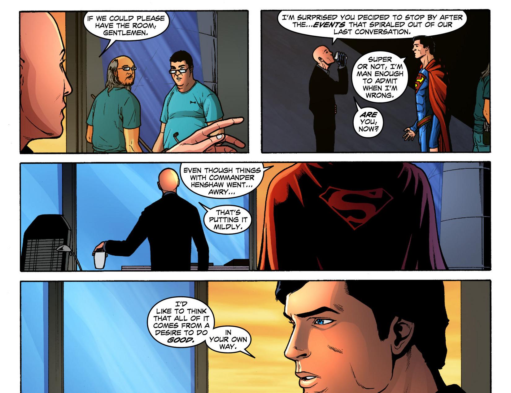 Read online Smallville: Season 11 comic -  Issue #12 - 4