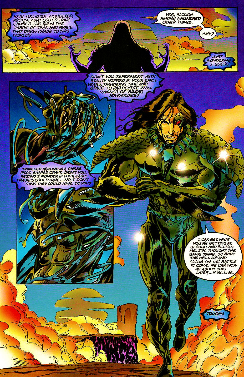 Read online Chains of Chaos comic -  Issue #3 - 10