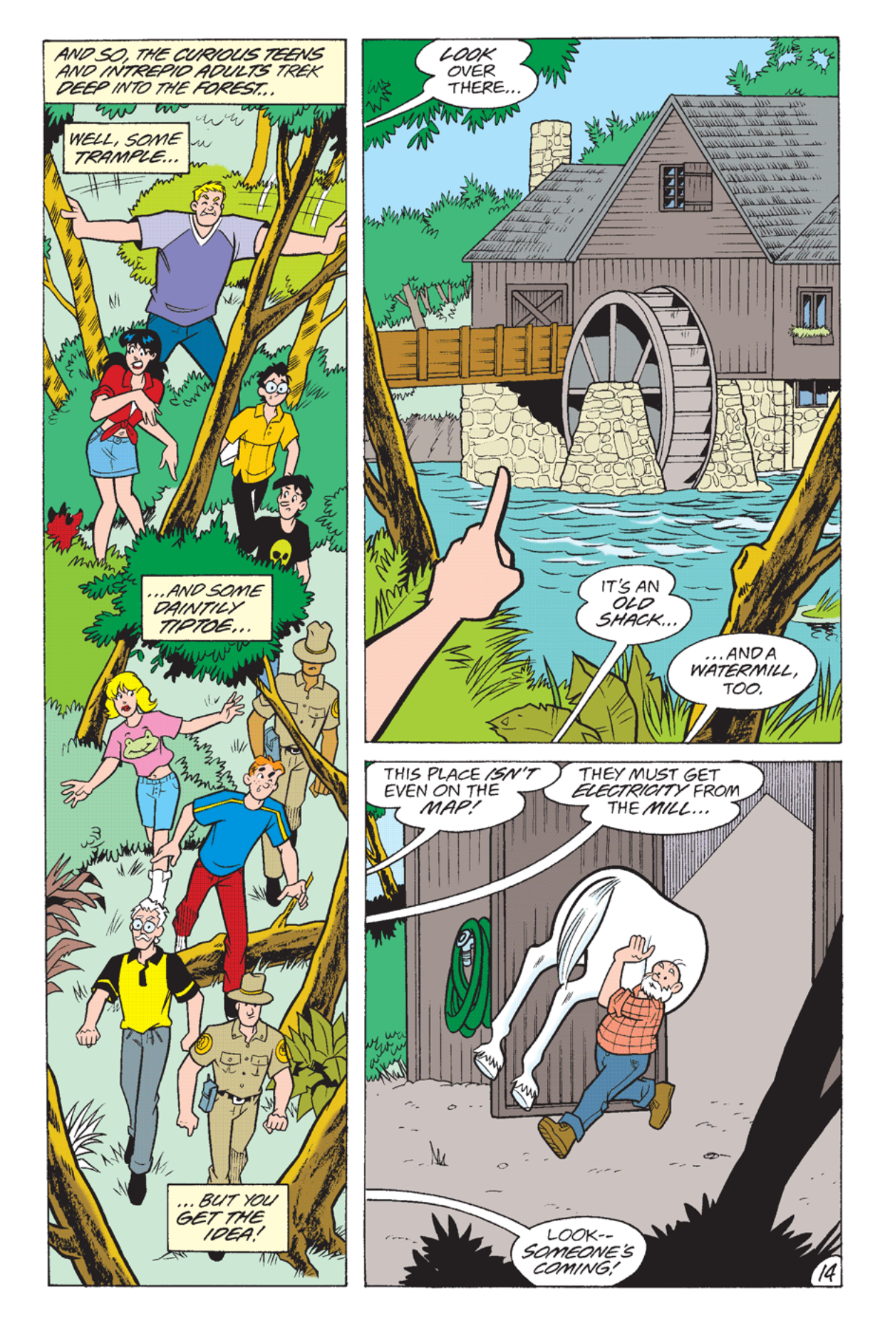 Read online Archie's Weird Mysteries comic -  Issue #23 - 16