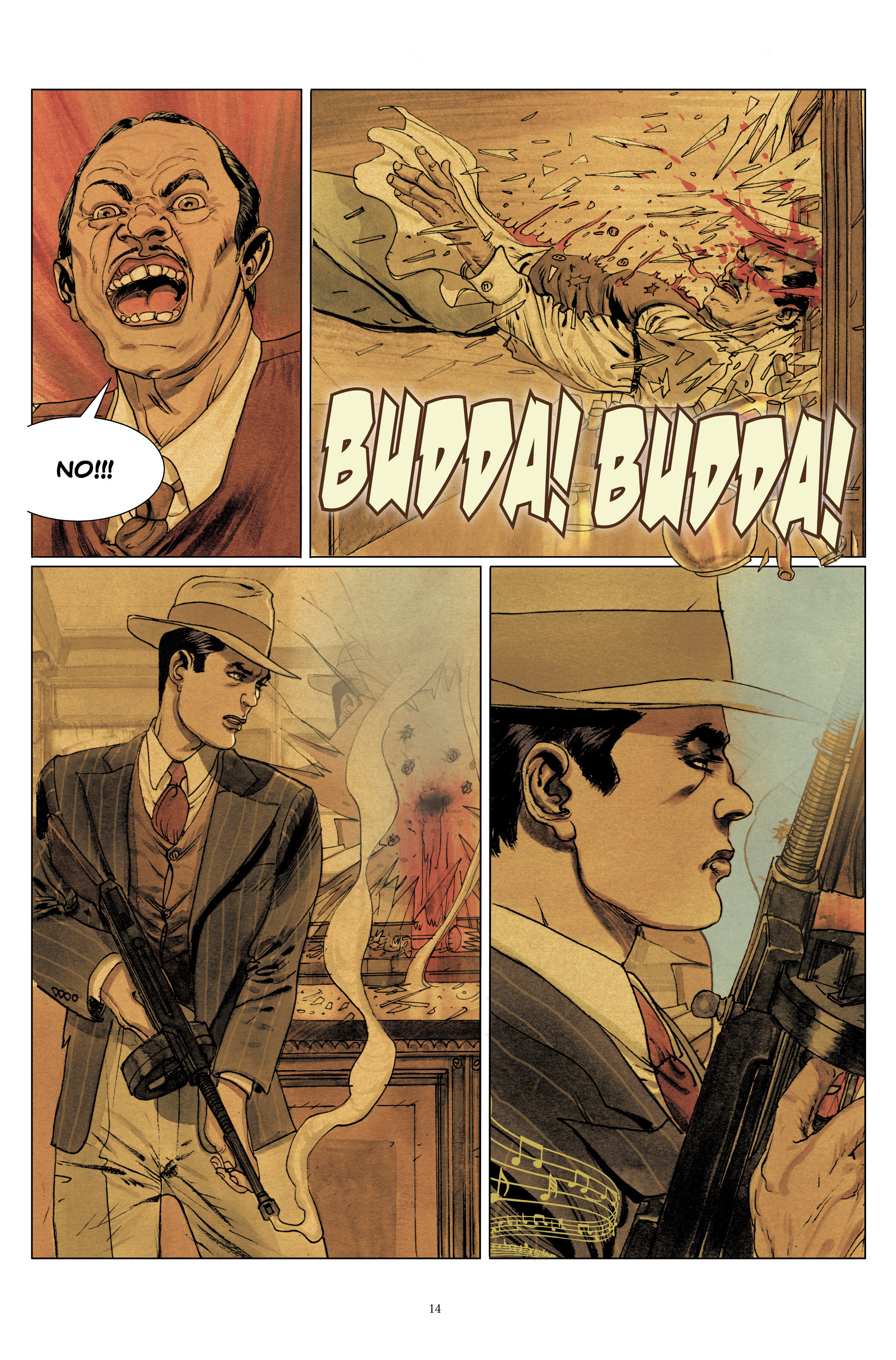 Read online Triggerman comic -  Issue #1 - 19