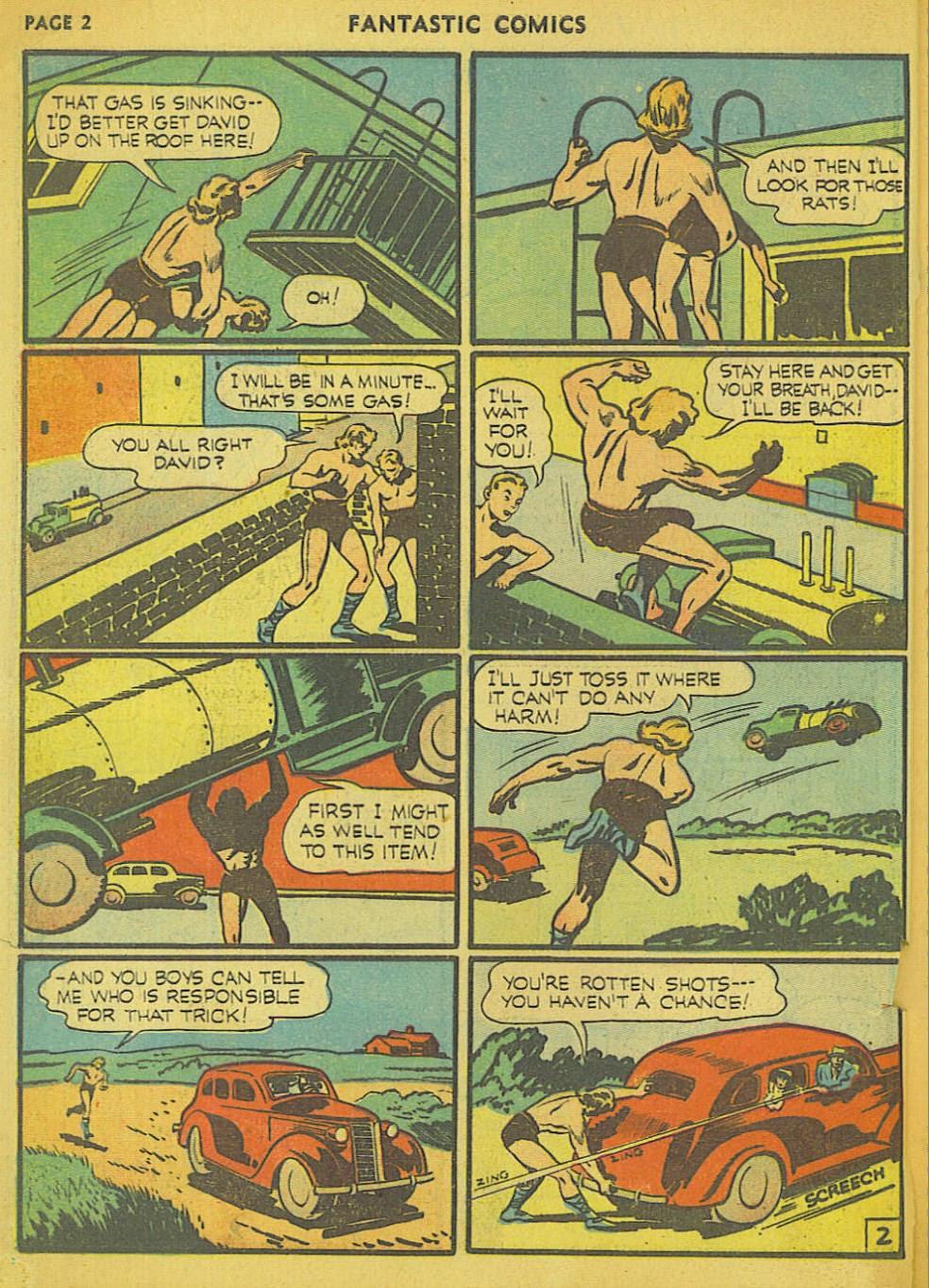 Read online Fantastic Comics comic -  Issue #15 - 13