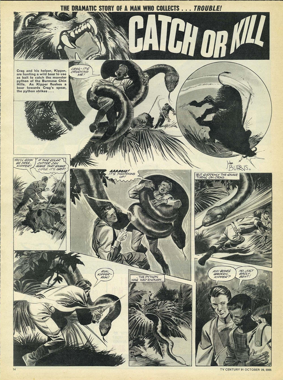 Read online TV Century 21 (TV 21) comic -  Issue #93 - 13