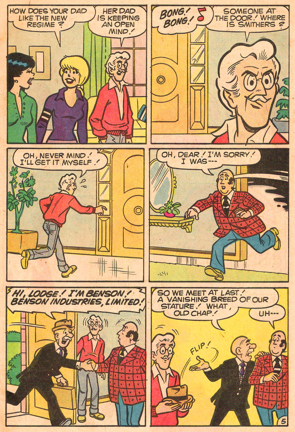 Read online Archie's Girls Betty and Veronica comic -  Issue #267 - 7