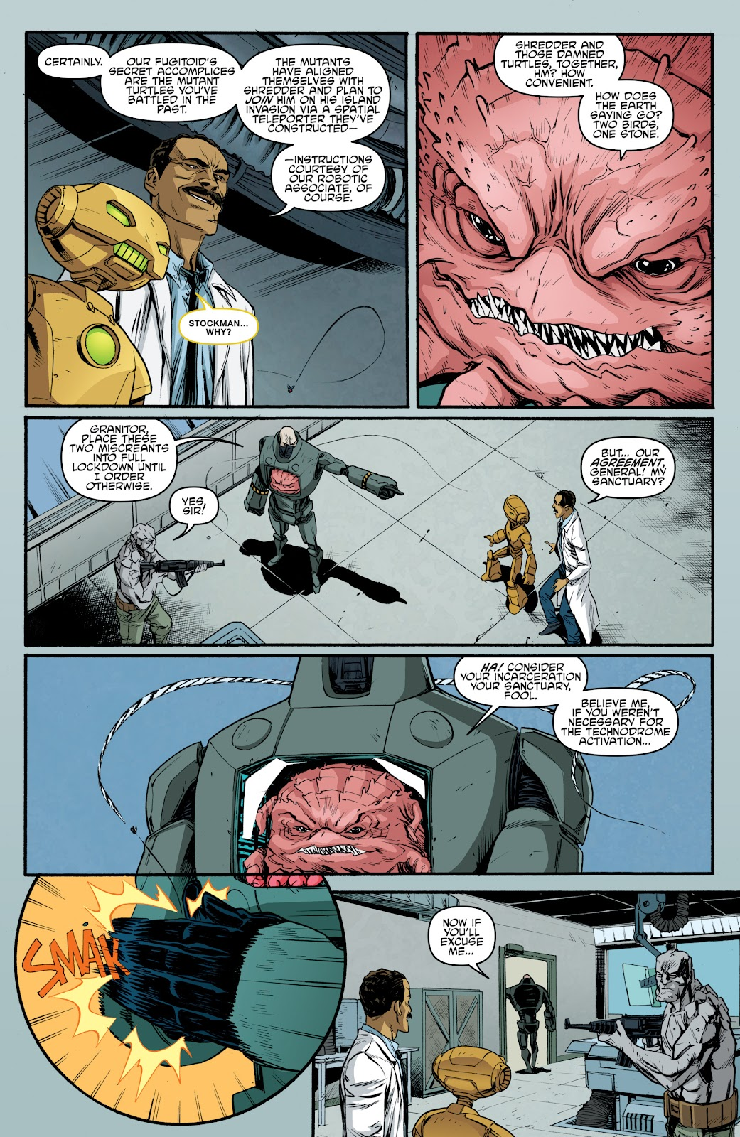 Read online Teenage Mutant Ninja Turtles: The IDW Collection comic -  Issue # TPB 5 (Part 3) - 93
