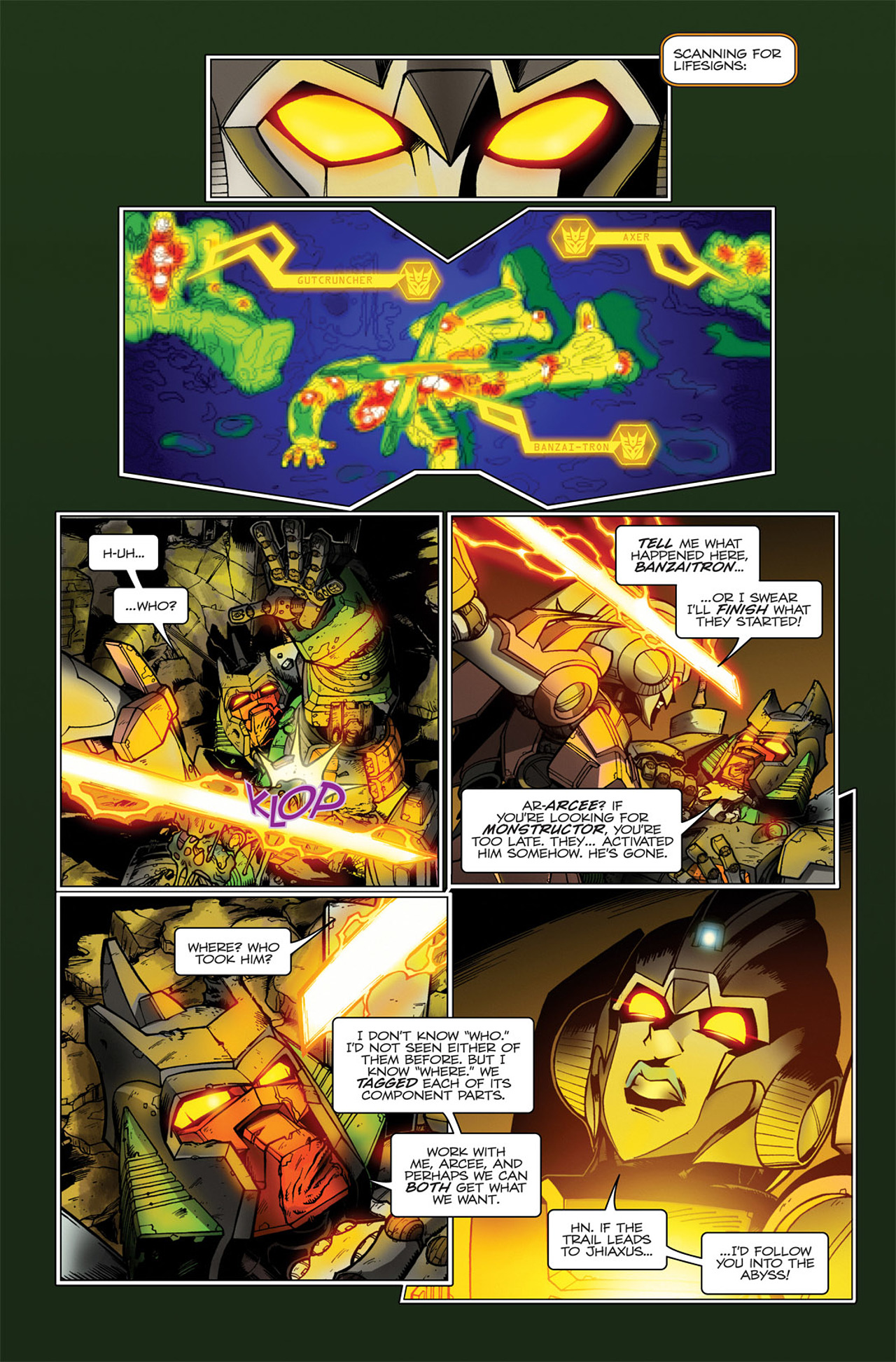 Read online Transformers Spotlight: Hardhead comic -  Issue # Full - 19