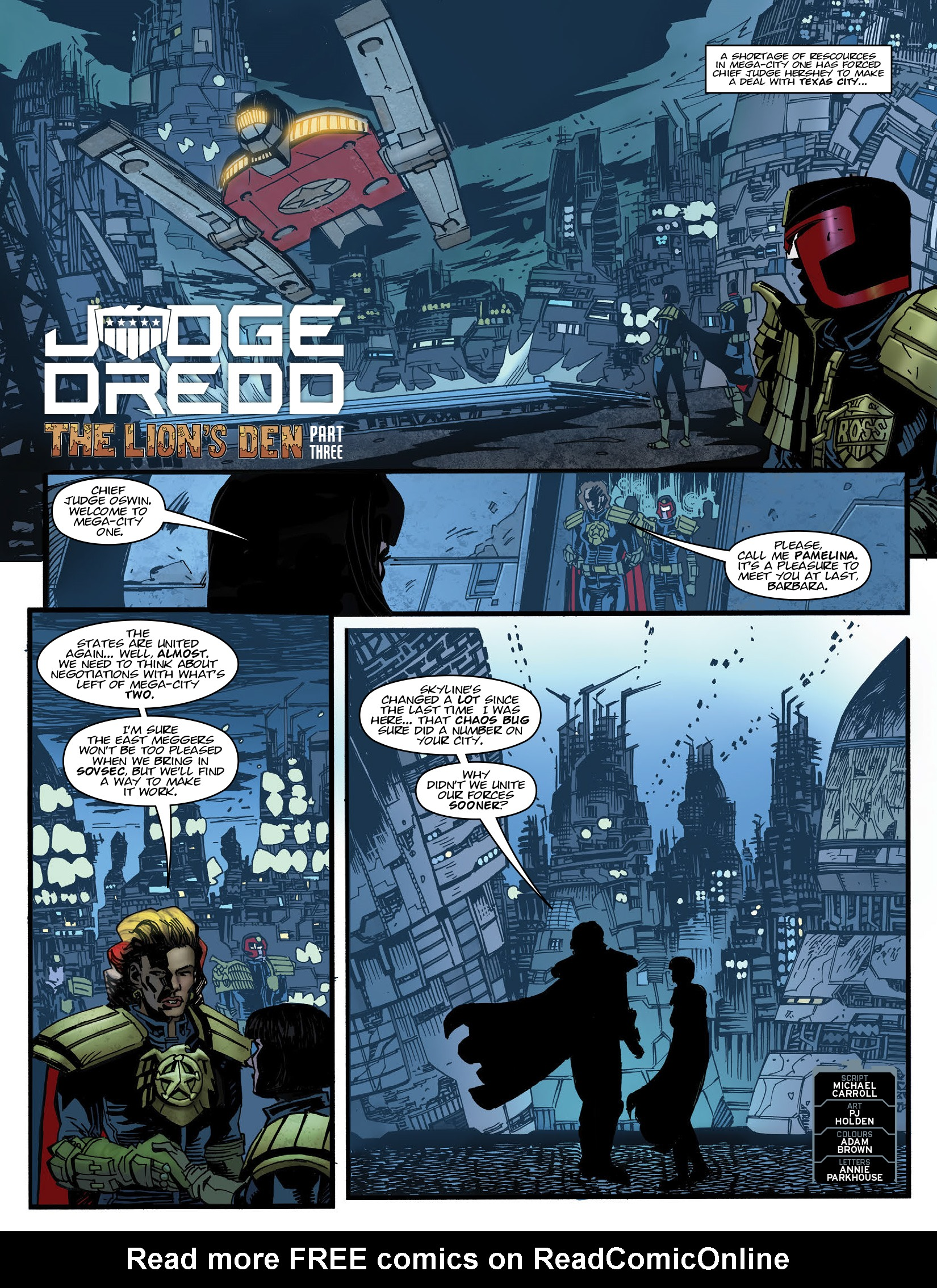 Read online 2000 AD comic -  Issue #1980 - 3