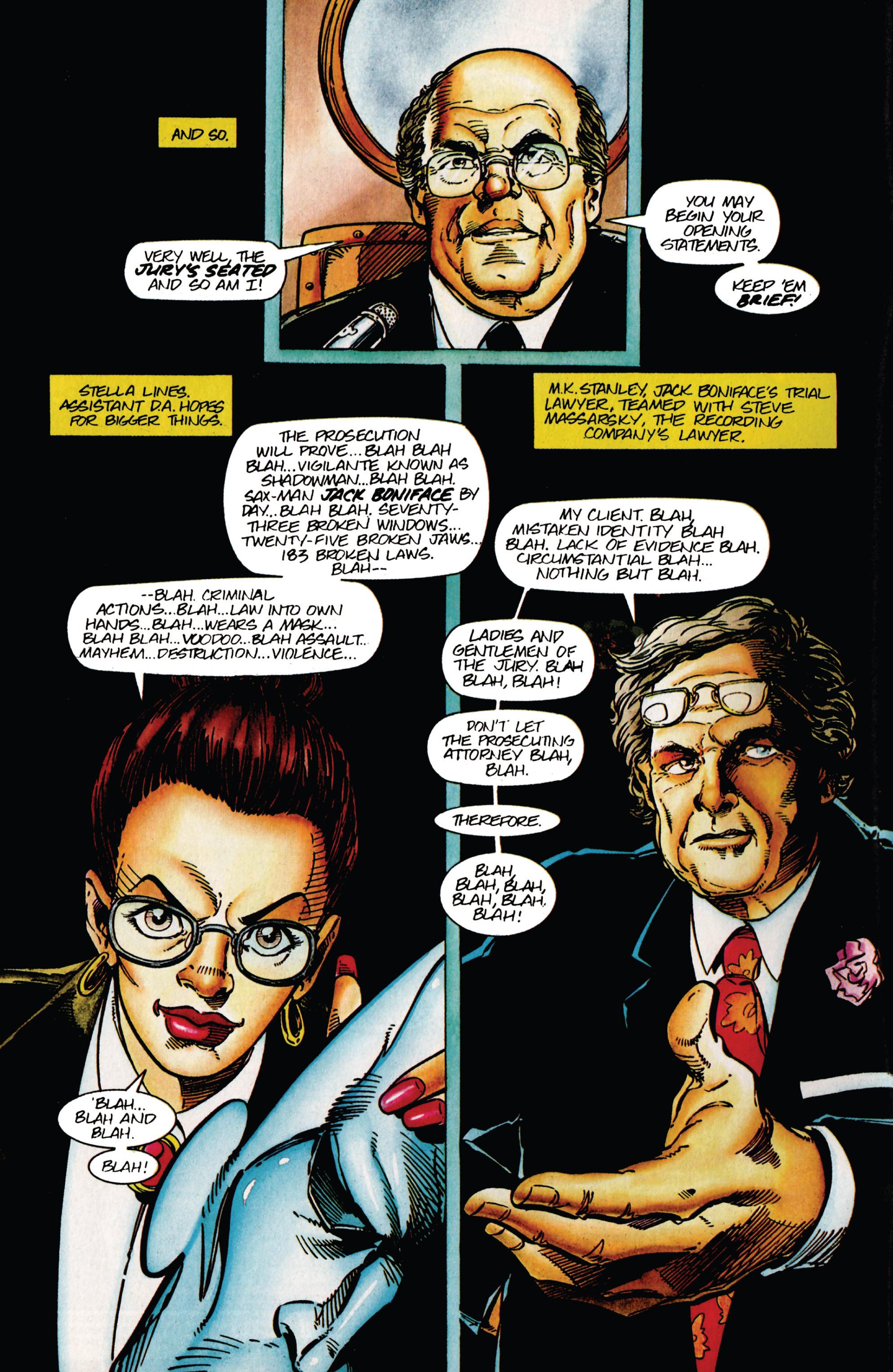 Read online Shadowman (1992) comic -  Issue #42 - 5