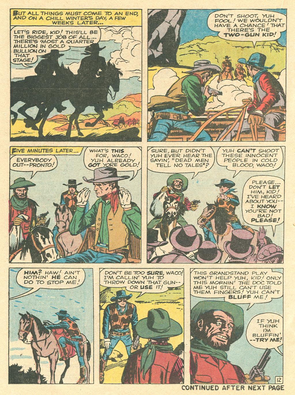 Read online Two-Gun Kid comic -  Issue #101 - 20