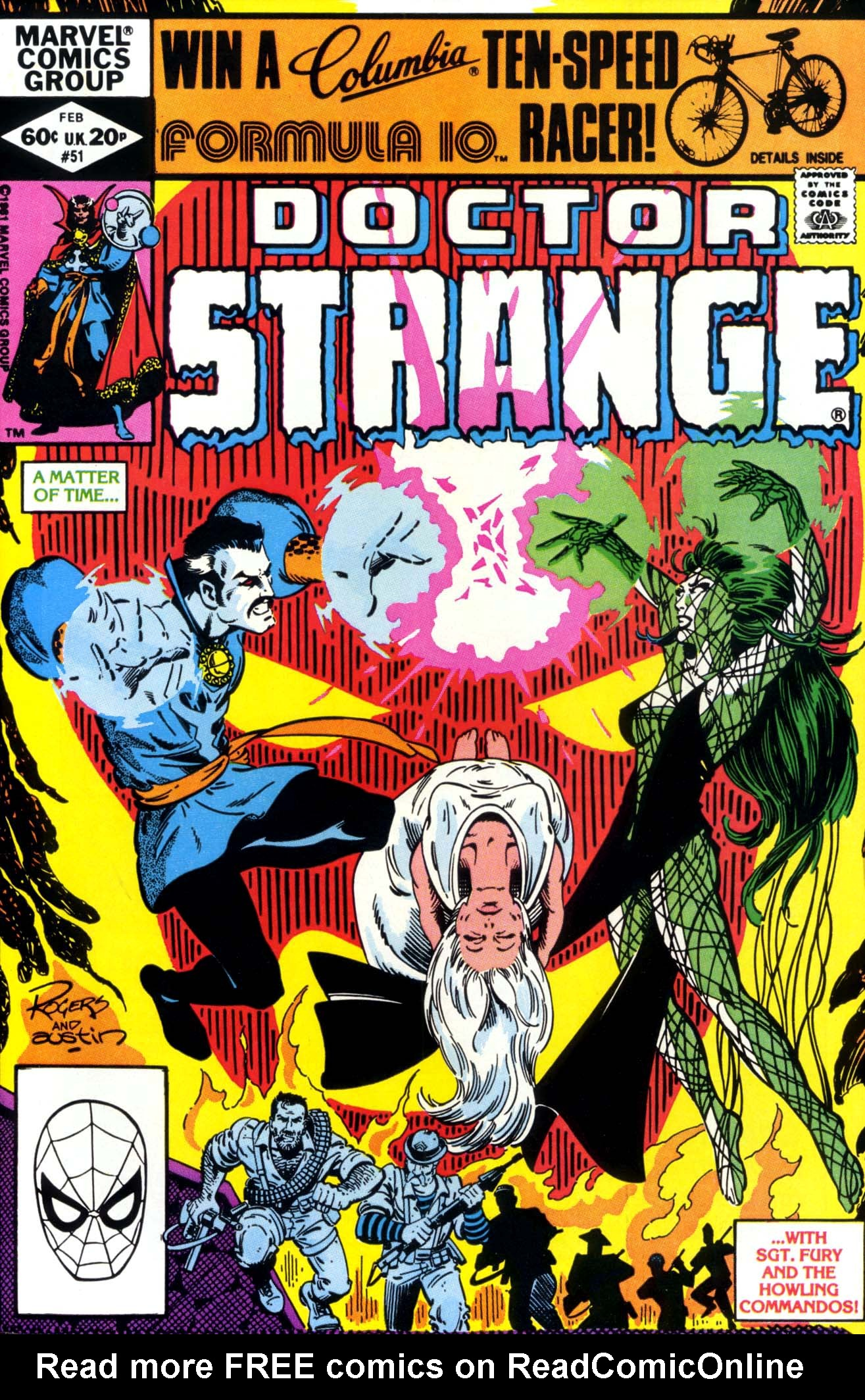 Doctor Strange (1974) 51 Page 1