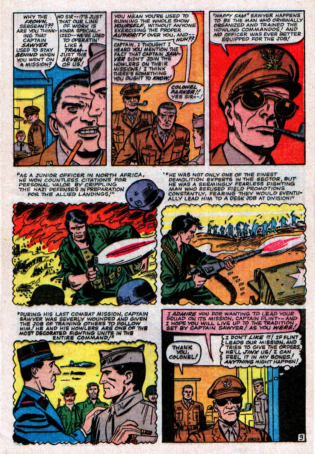 Read online Sgt. Fury comic -  Issue #11 - 13