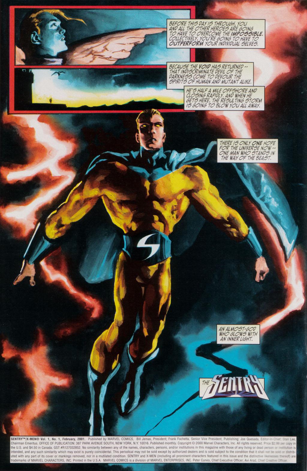 Read online Sentry/X-Men comic -  Issue # Full - 4