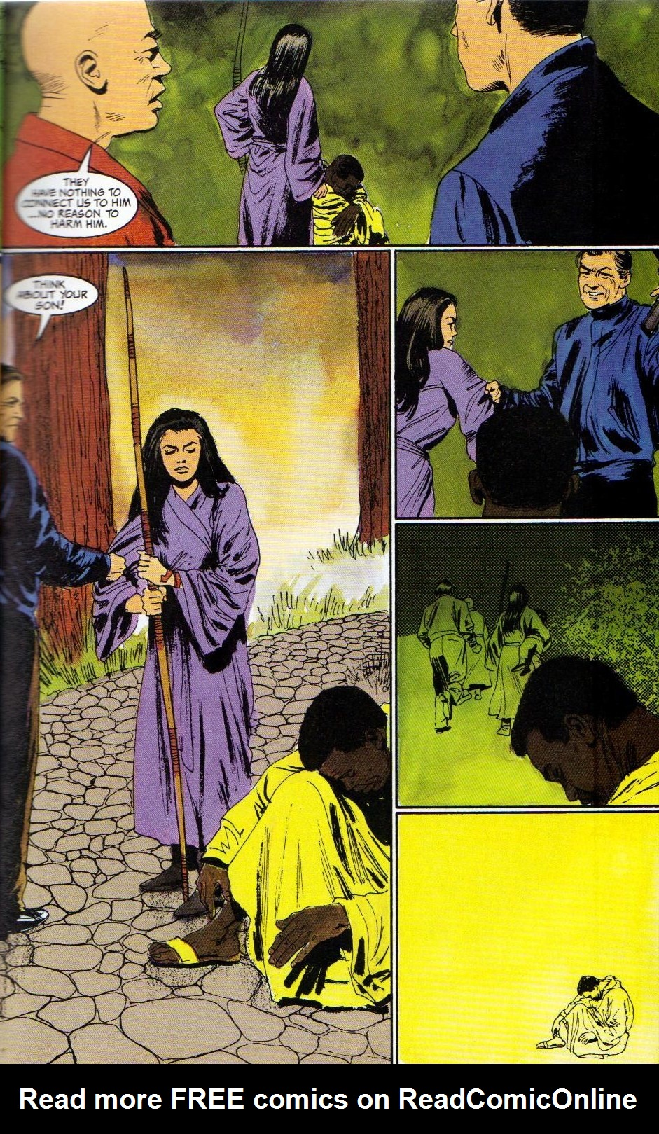 Read online Shado: Song of the Dragon comic -  Issue #3 - 9