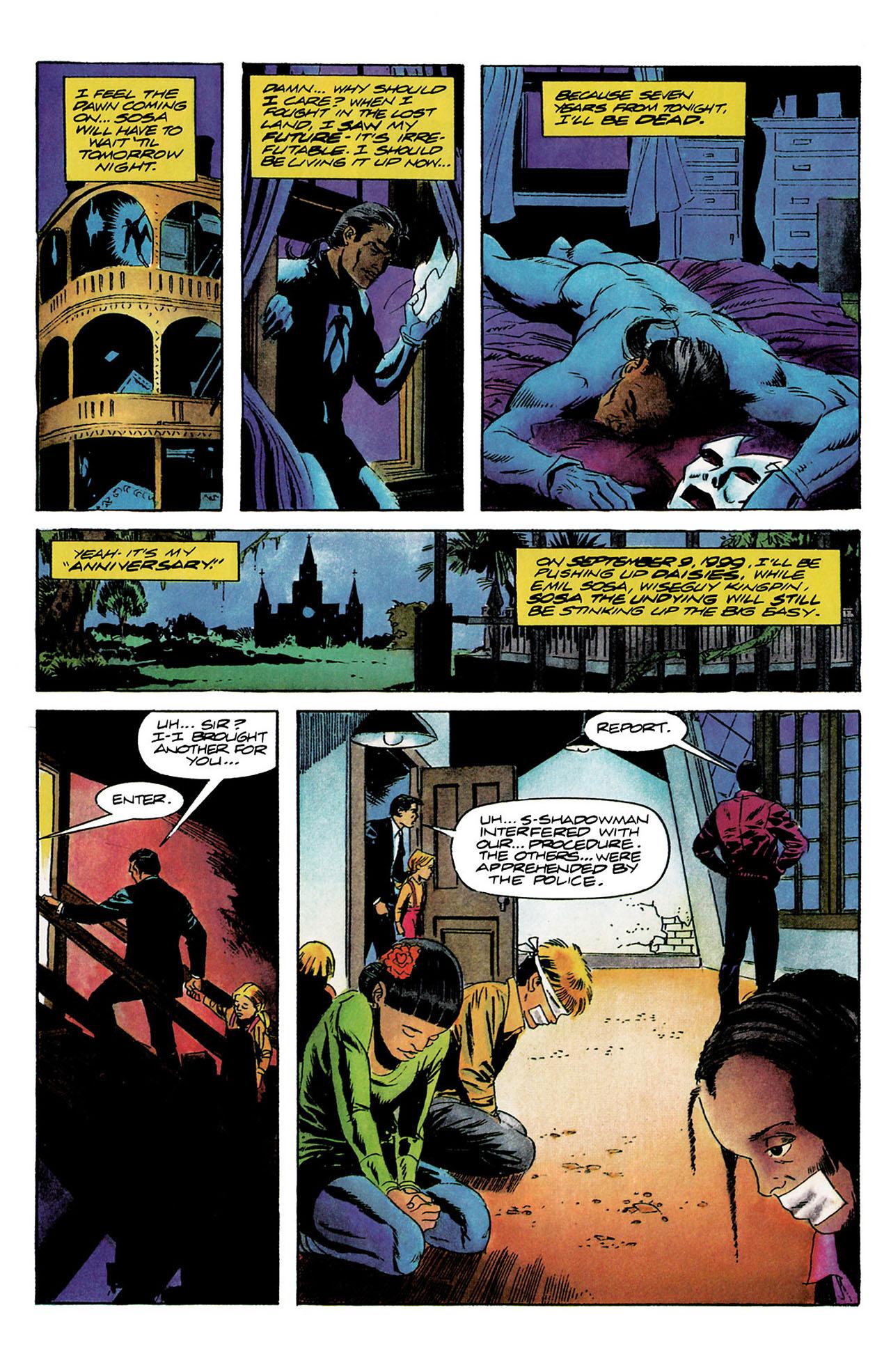 Read online Shadowman (1992) comic -  Issue #9 - 5