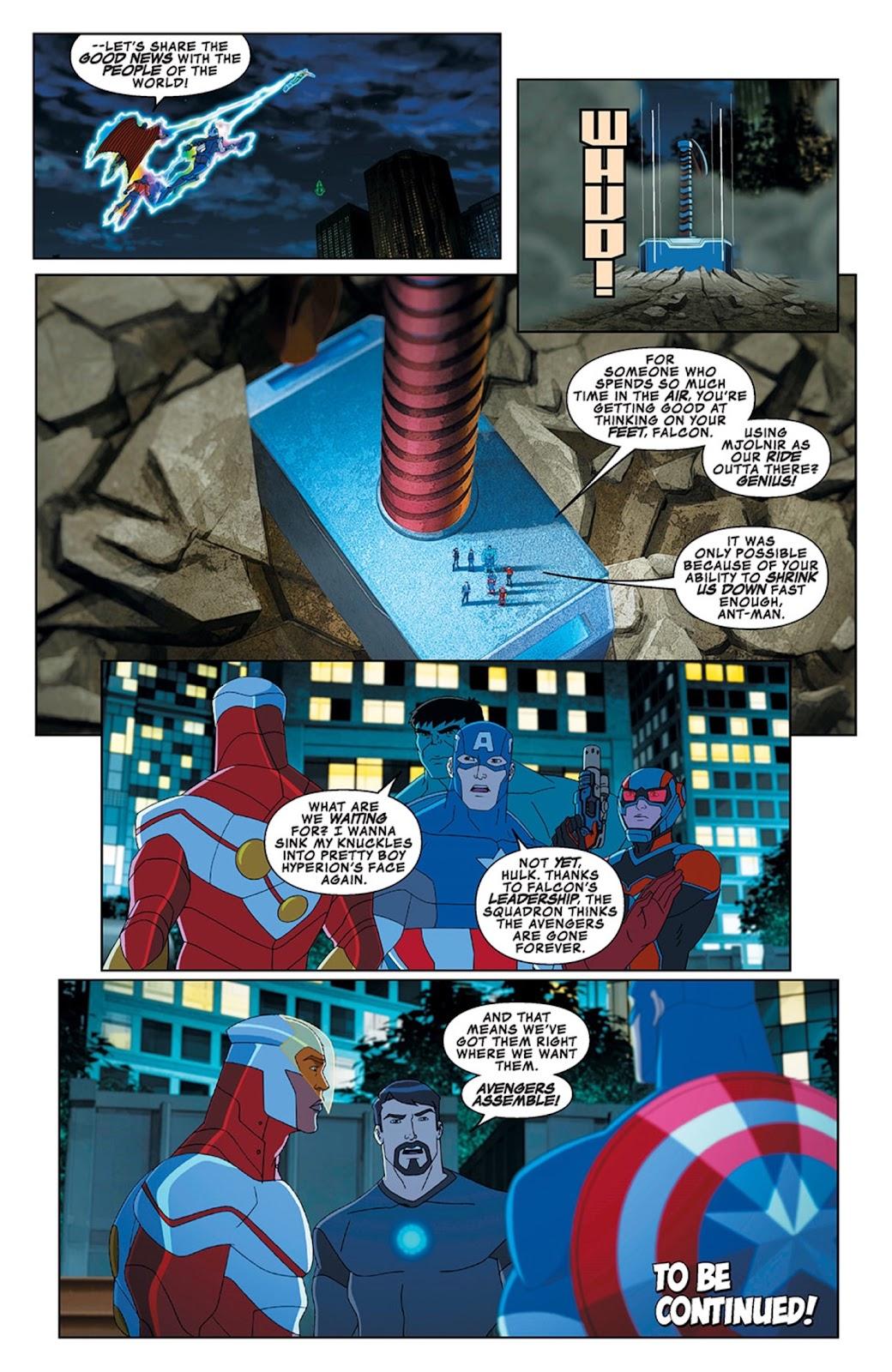 Read online Marvel Universe Avengers Assemble Season 2 comic -  Issue #13 - 28