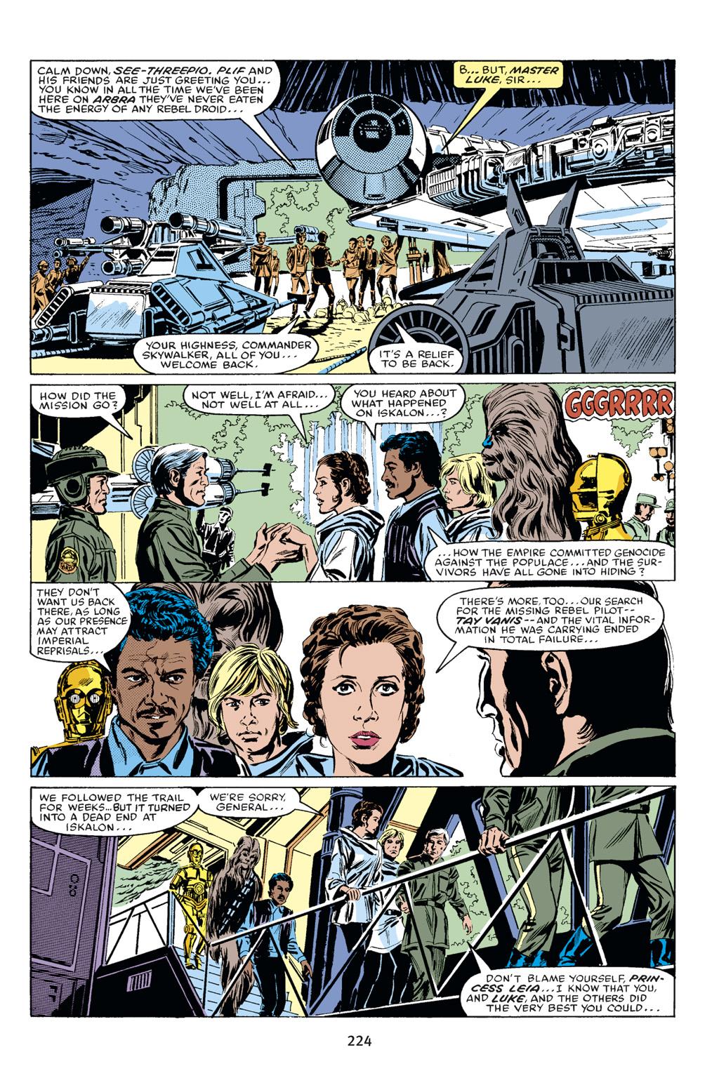 Read online Star Wars Omnibus comic -  Issue # Vol. 18 - 210
