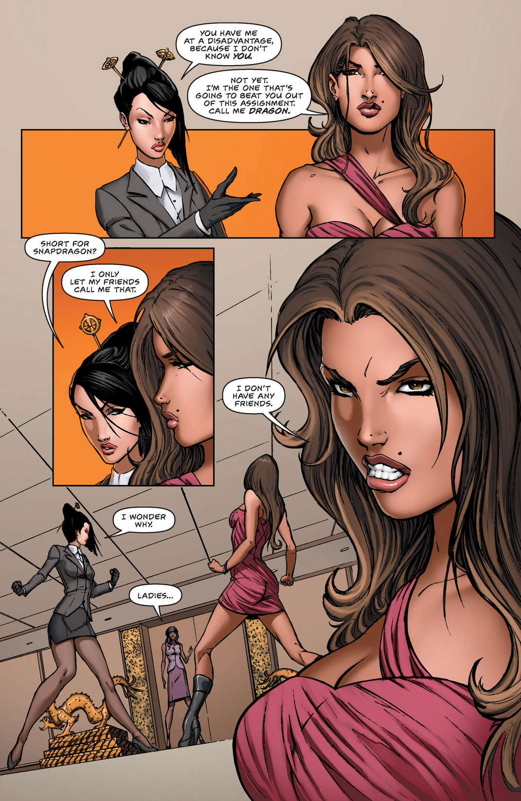 Read online All New Executive Assistant: Iris comic -  Issue #1 - 8