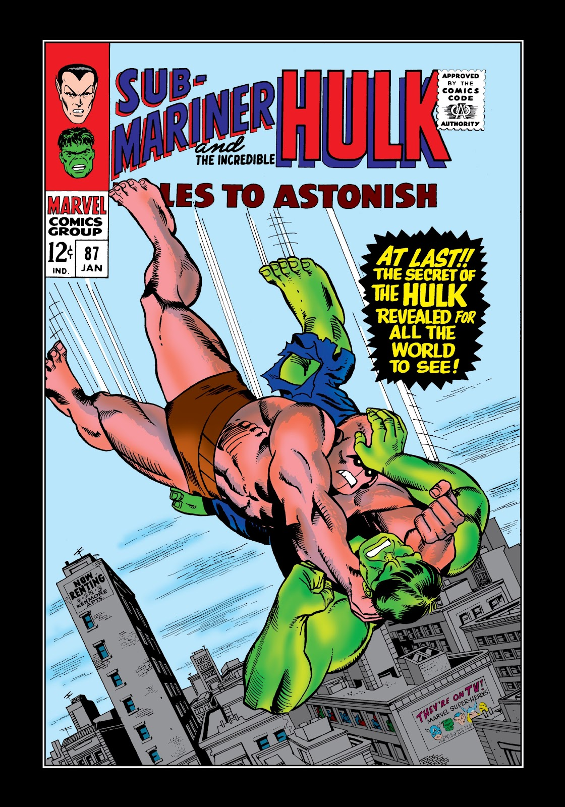 Read online Marvel Masterworks: The Incredible Hulk comic -  Issue # TPB 3 (Part 1) - 84