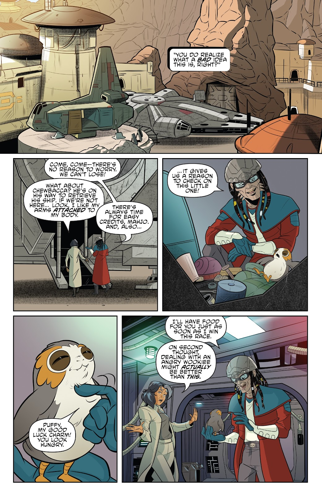 Read online Star Wars Adventures: Flight of the Falcon comic -  Issue # Full - 8