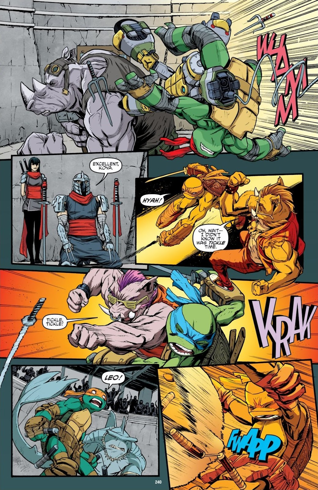 Read online Teenage Mutant Ninja Turtles: The IDW Collection comic -  Issue # TPB 6 (Part 3) - 34