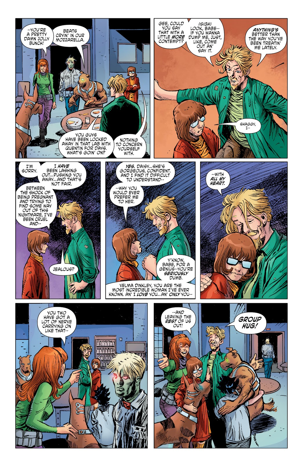 Read online Scooby Apocalypse comic -  Issue #36 - 11