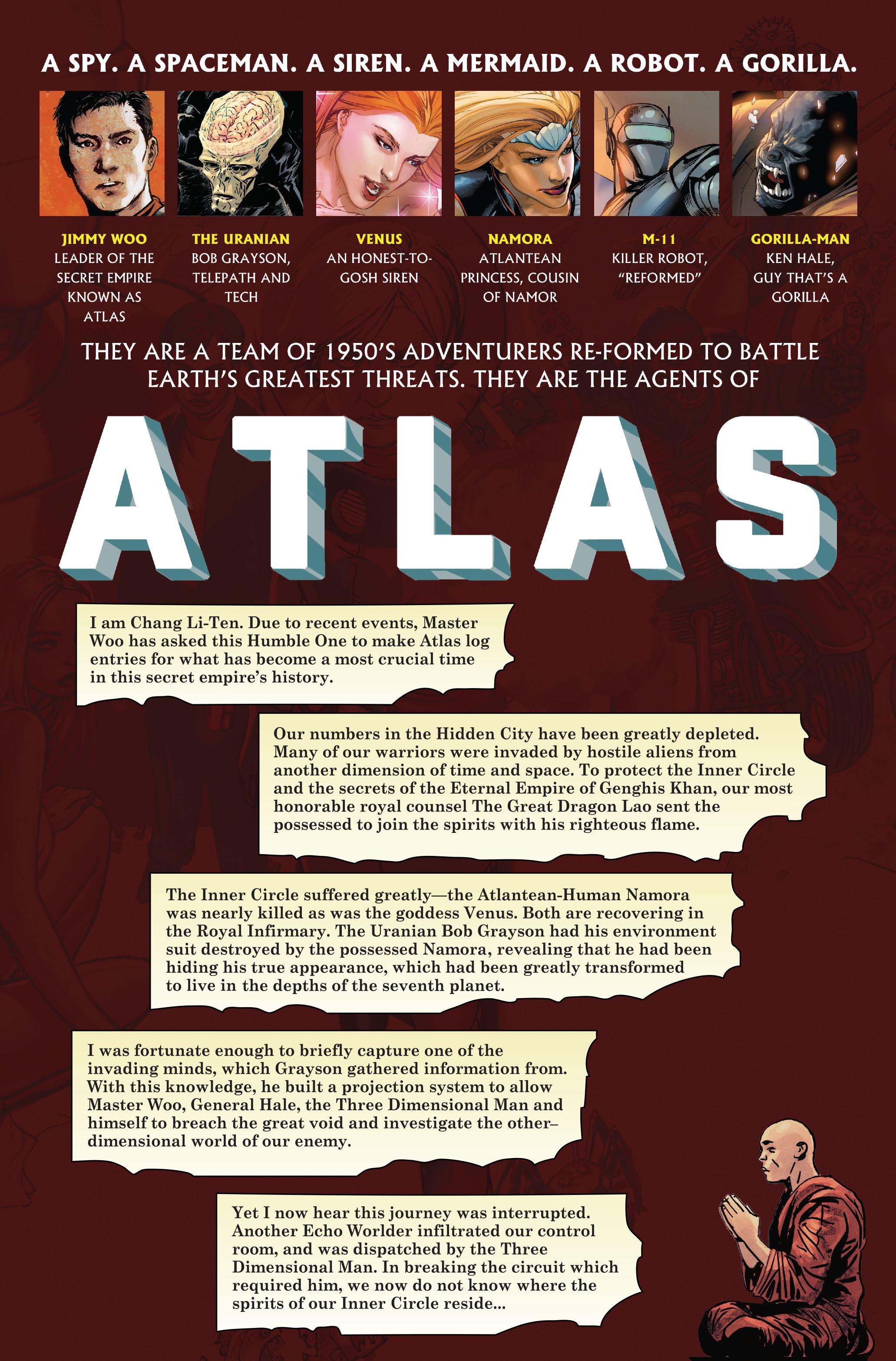 Read online Atlas comic -  Issue #5 - 2