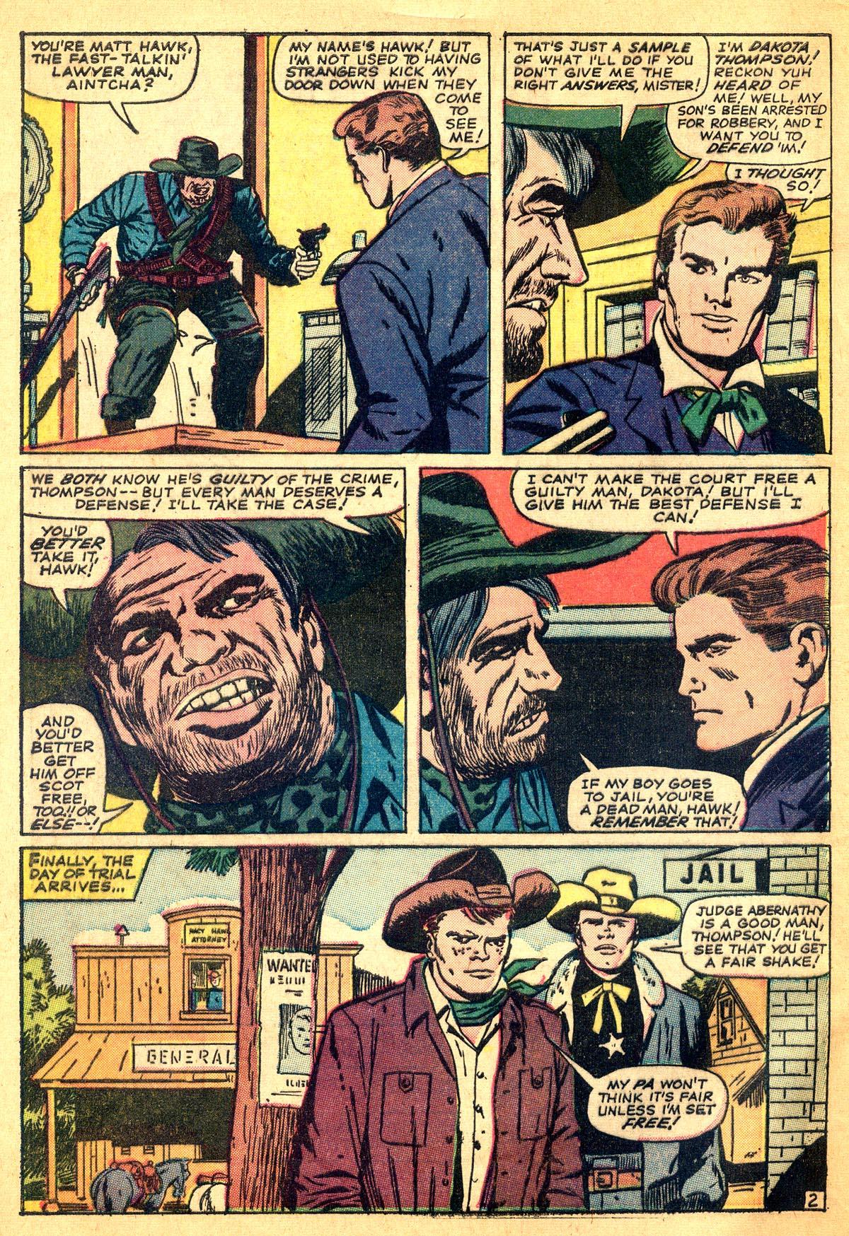 Read online Two-Gun Kid comic -  Issue #74 - 4