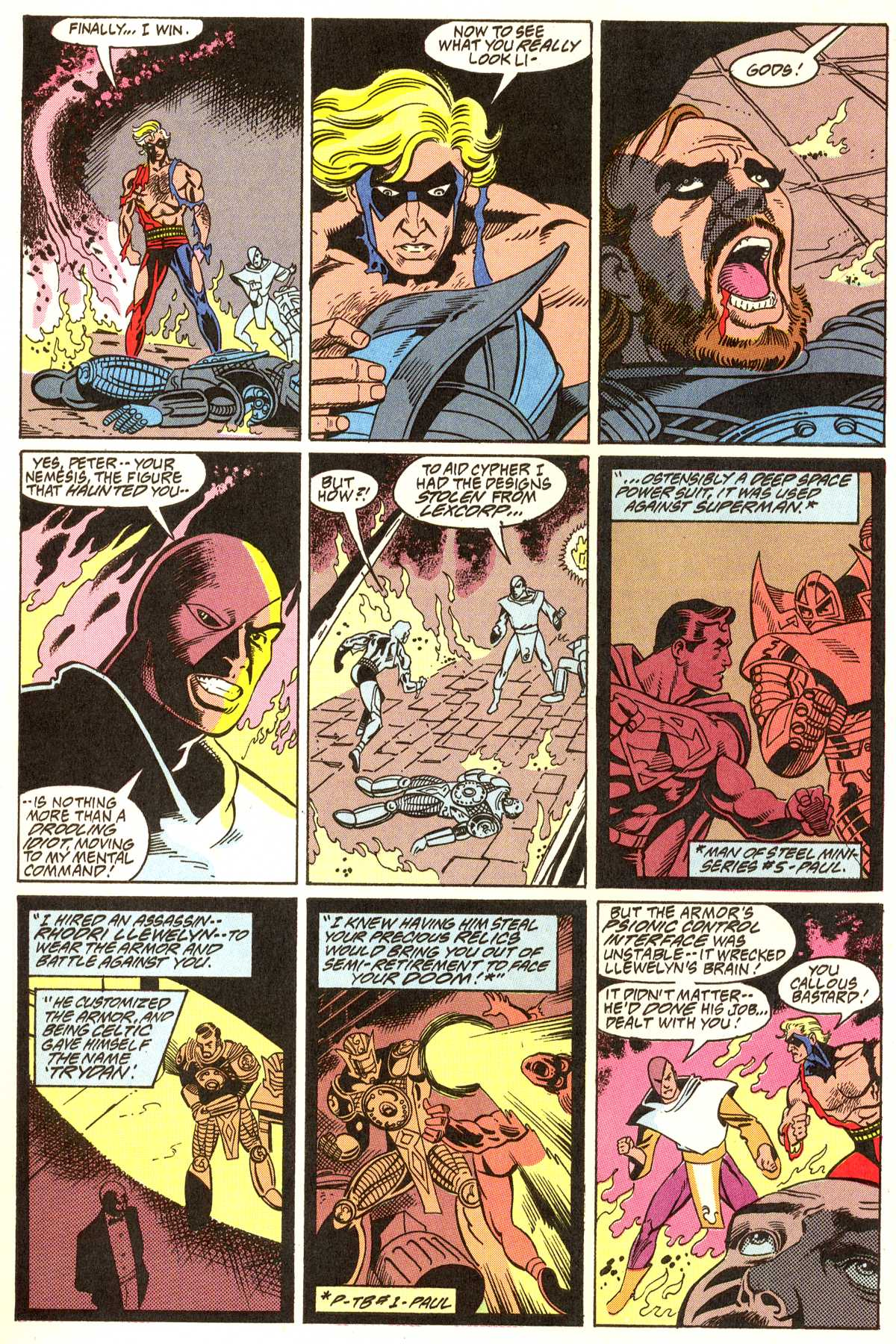 Read online Peter Cannon--Thunderbolt (1992) comic -  Issue #11 - 13