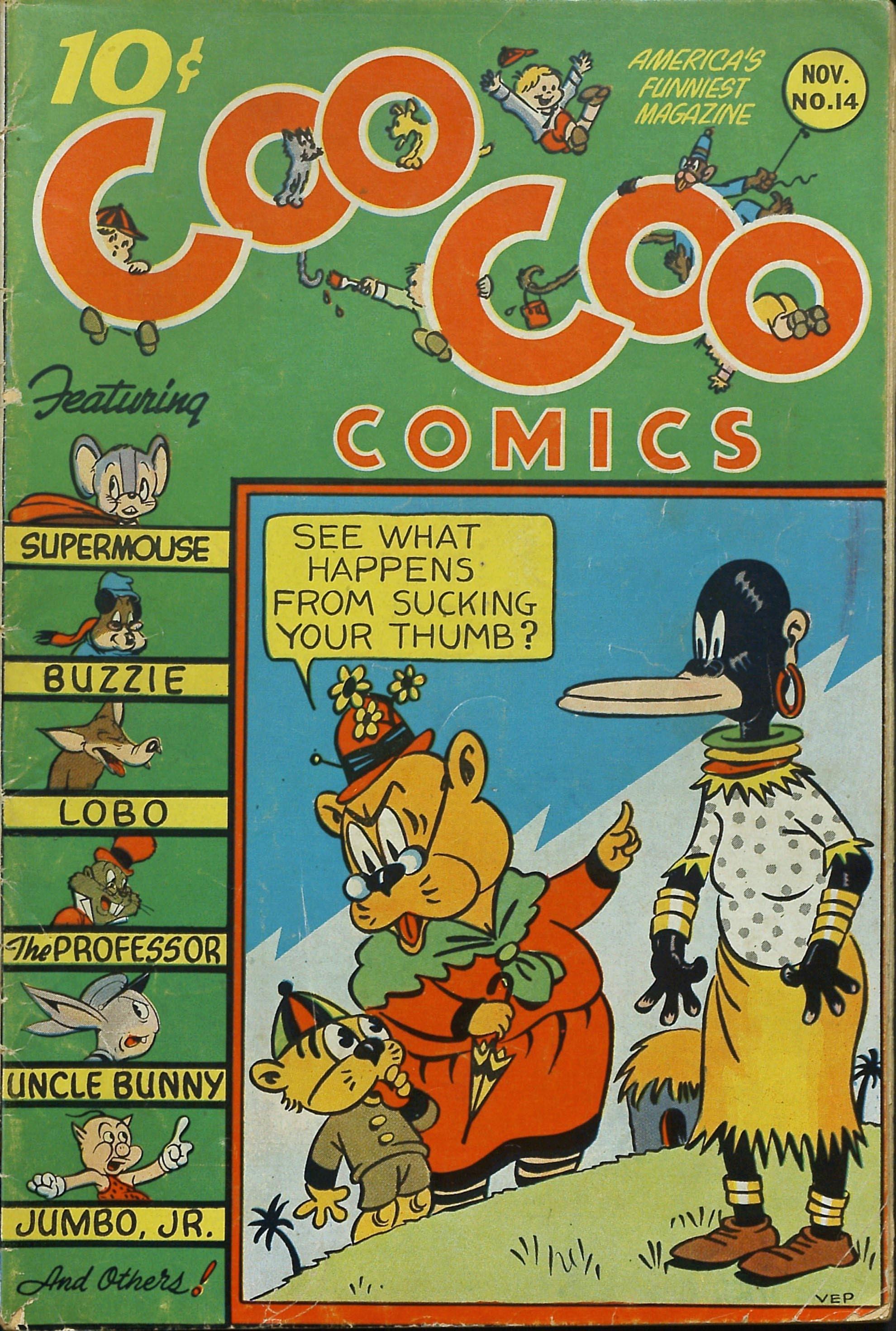 Coo Coo Comics 14 Page 1