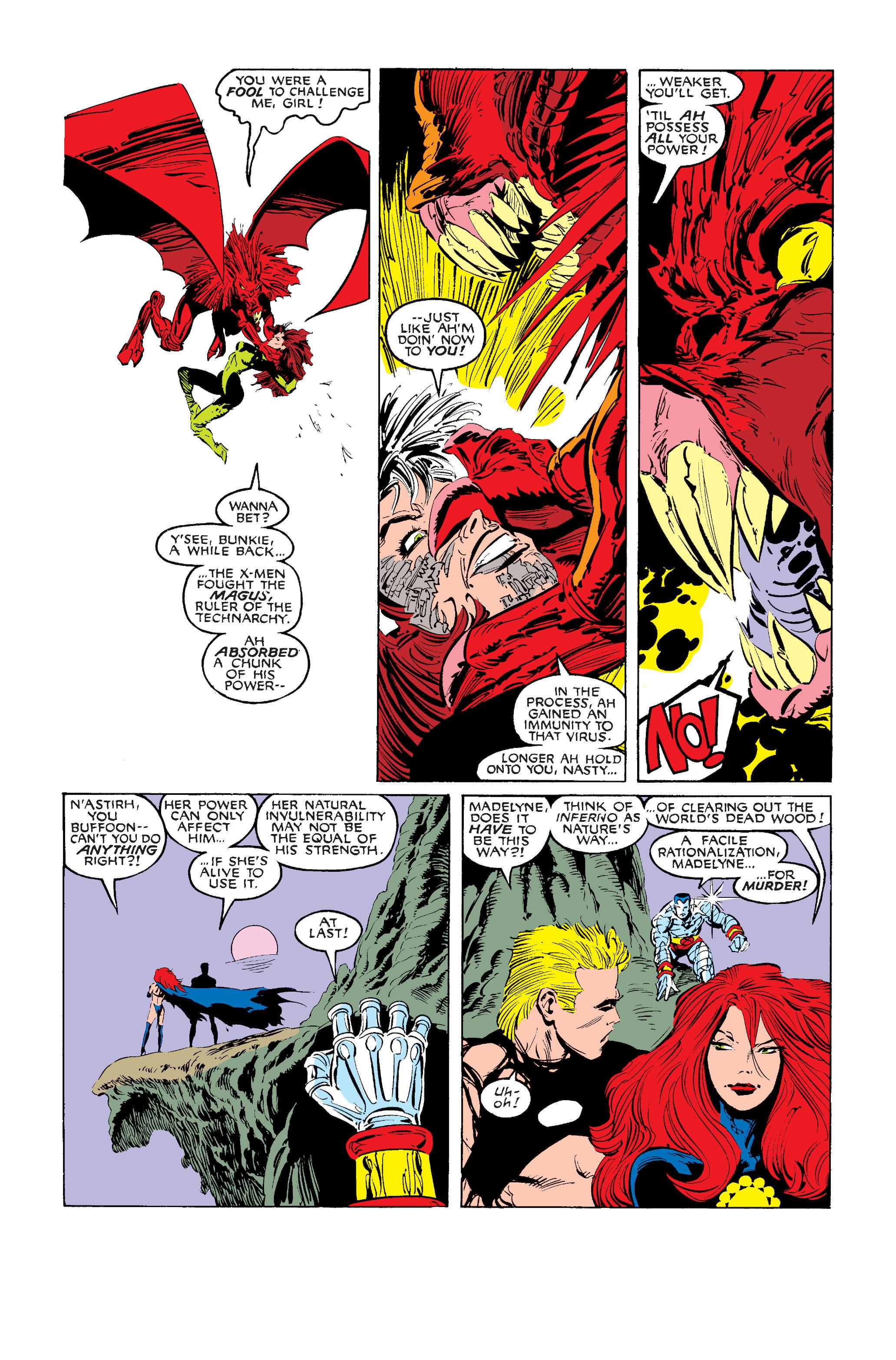 Read online Uncanny X-Men (1963) comic -  Issue #242 - 26