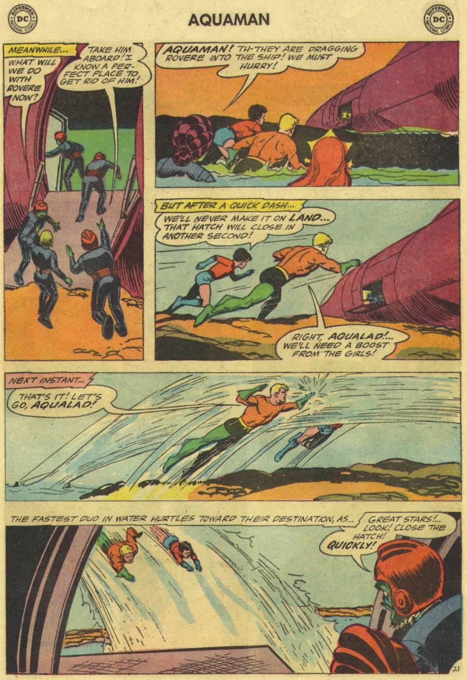 Read online Aquaman (1962) comic -  Issue #16 - 29