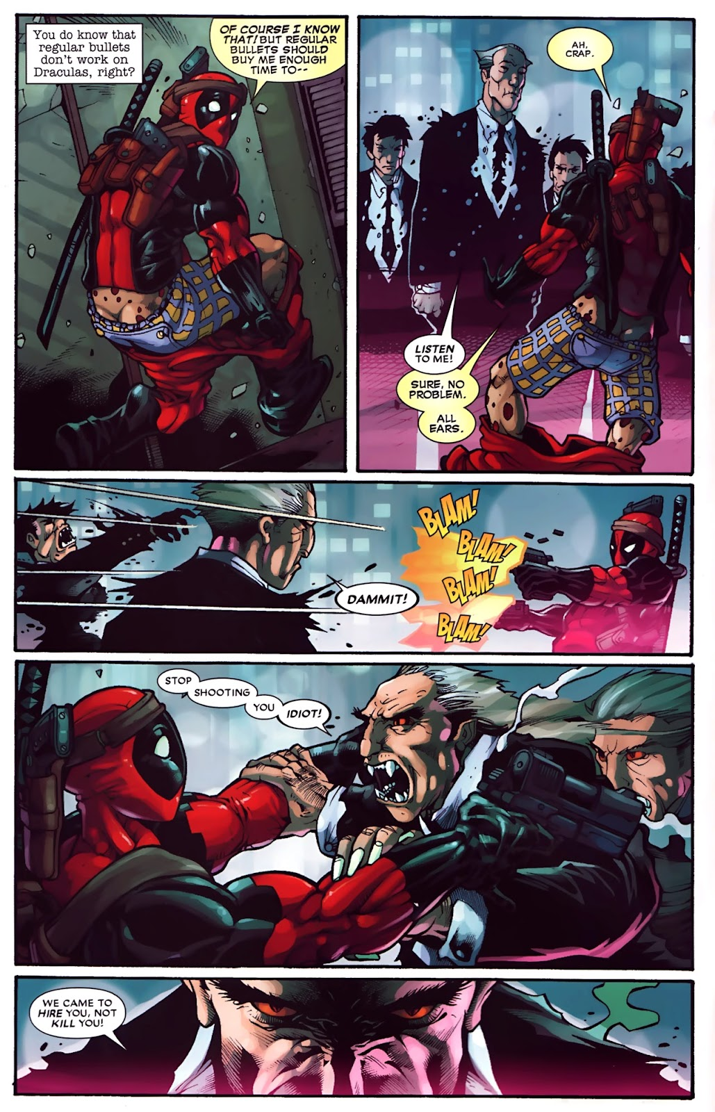 Read online Deadpool (2008) comic -  Issue #30 - 5