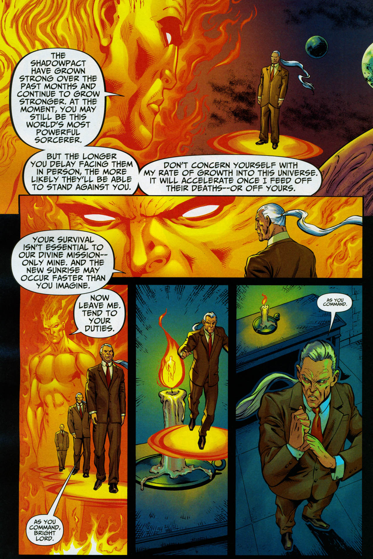 Read online Shadowpact comic -  Issue #14 - 10