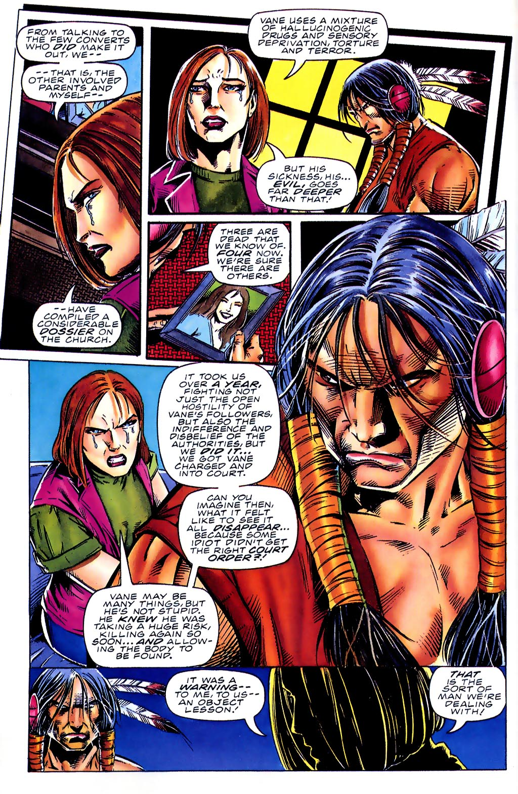 Read online Turok, Dinosaur Hunter (1993) comic -  Issue #41 - 8