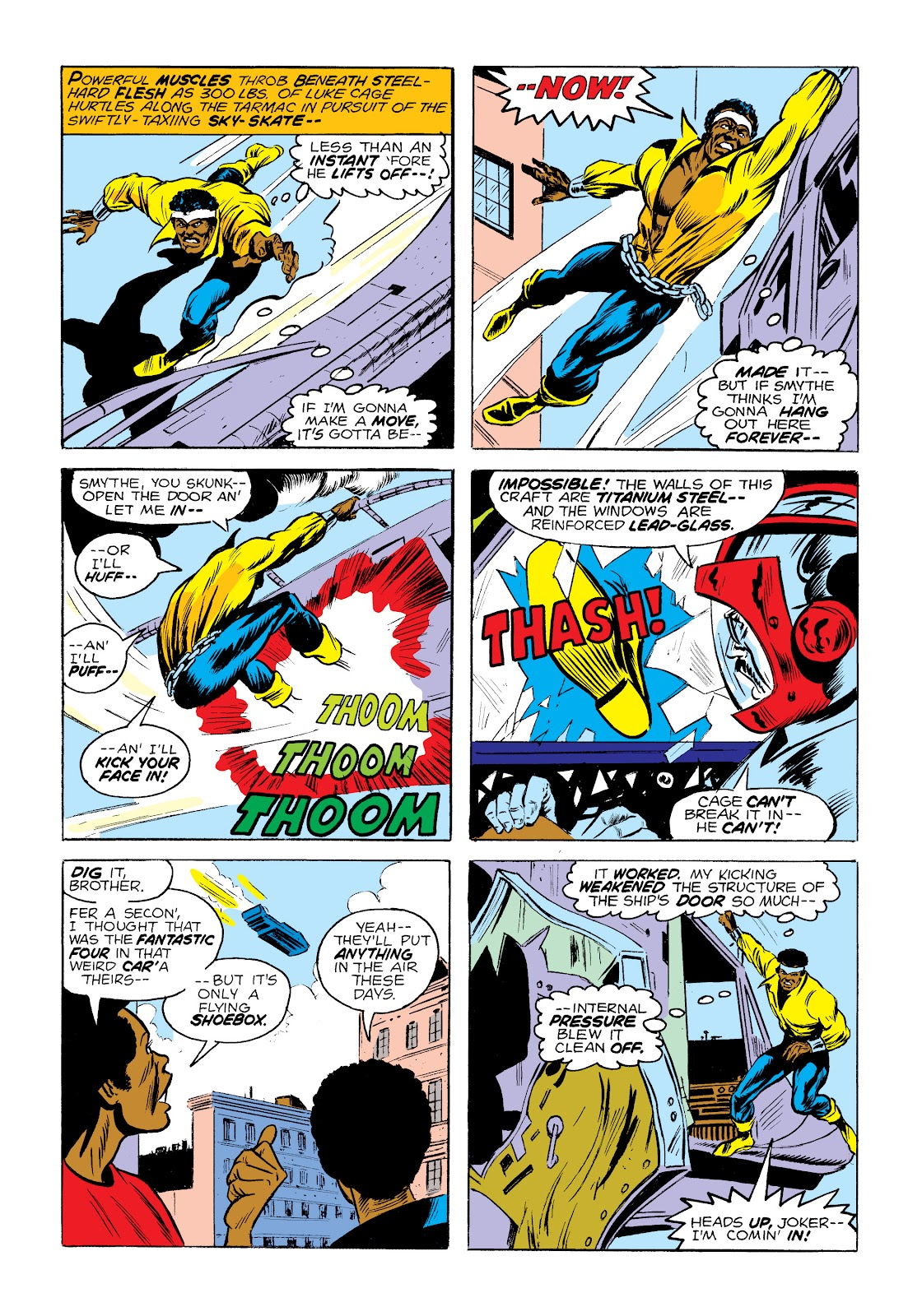 Read online Marvel Masterworks: Luke Cage, Power Man comic -  Issue # TPB 2 (Part 1) - 26