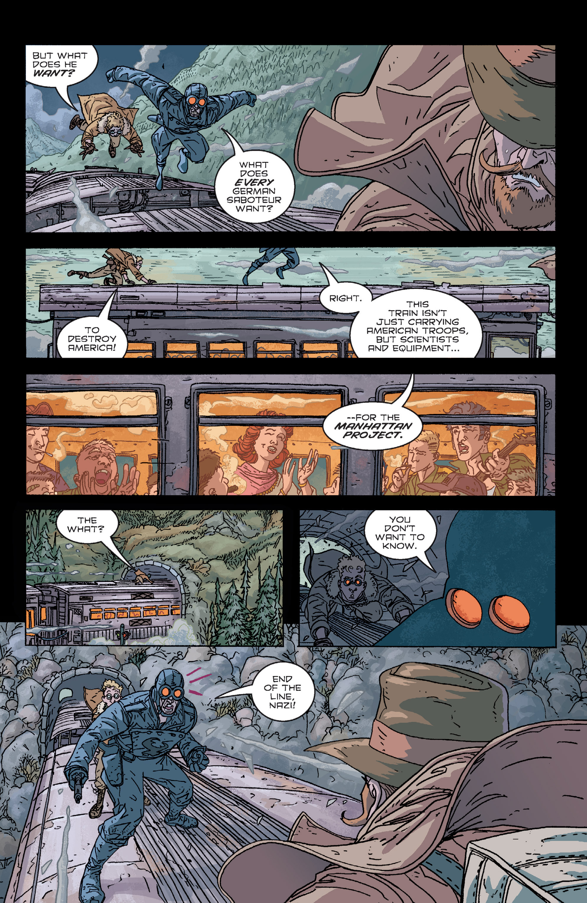 Read online B.P.R.D. (2003) comic -  Issue # TPB 2 - 61