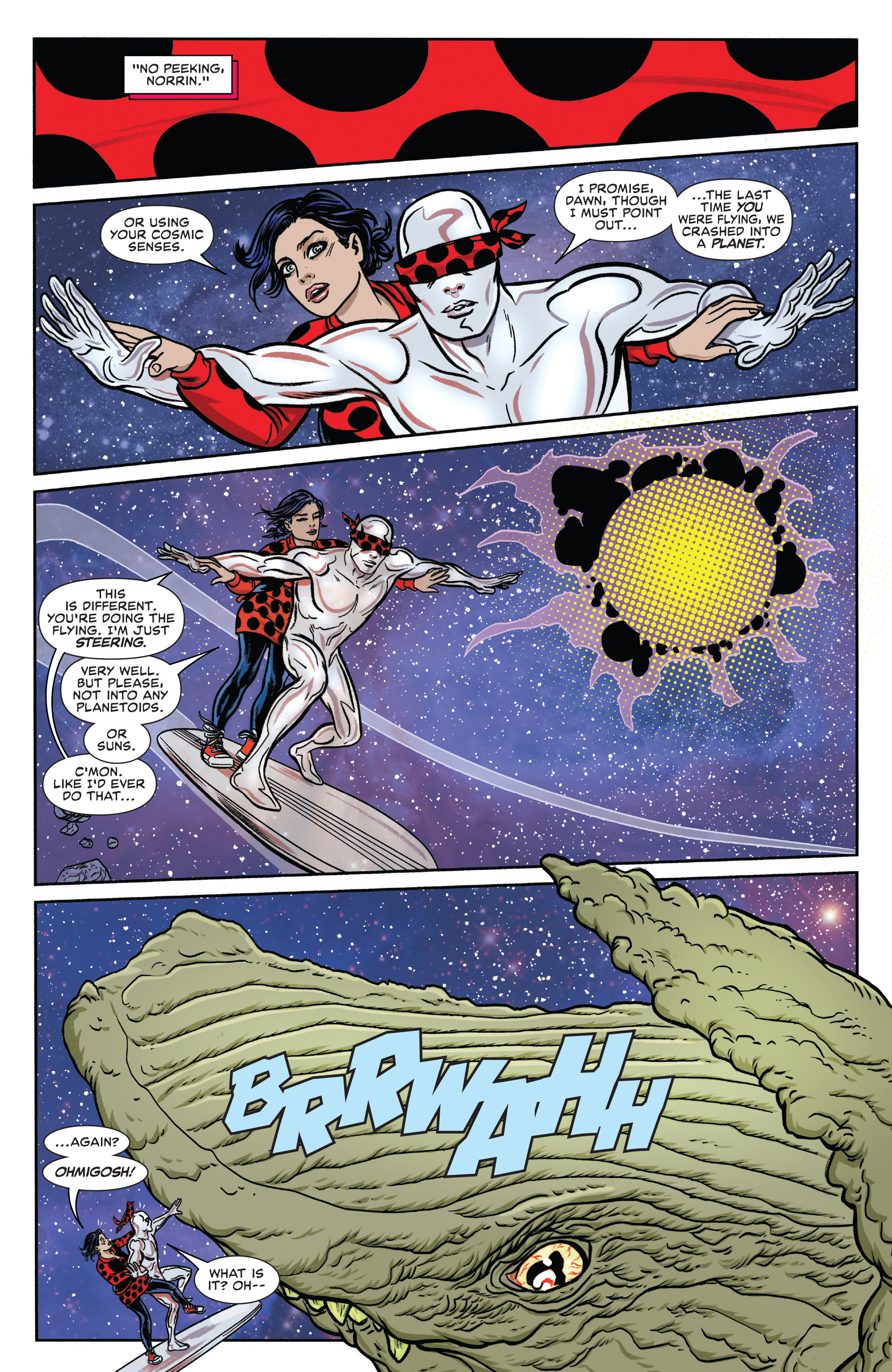 Read online Silver Surfer (2016) comic -  Issue #8 - 3
