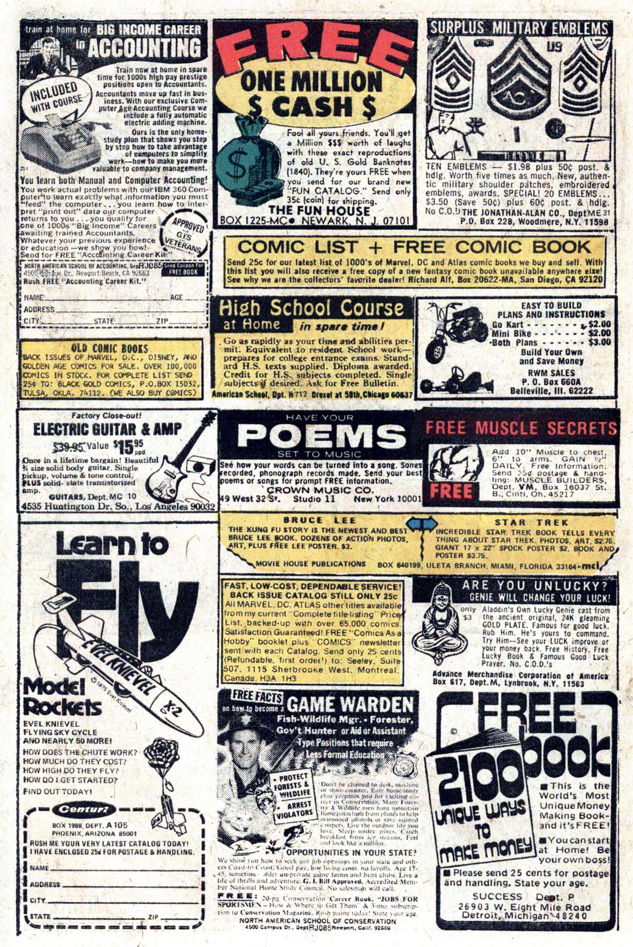 Read online Amazing Adventures (1970) comic -  Issue #33 - 10