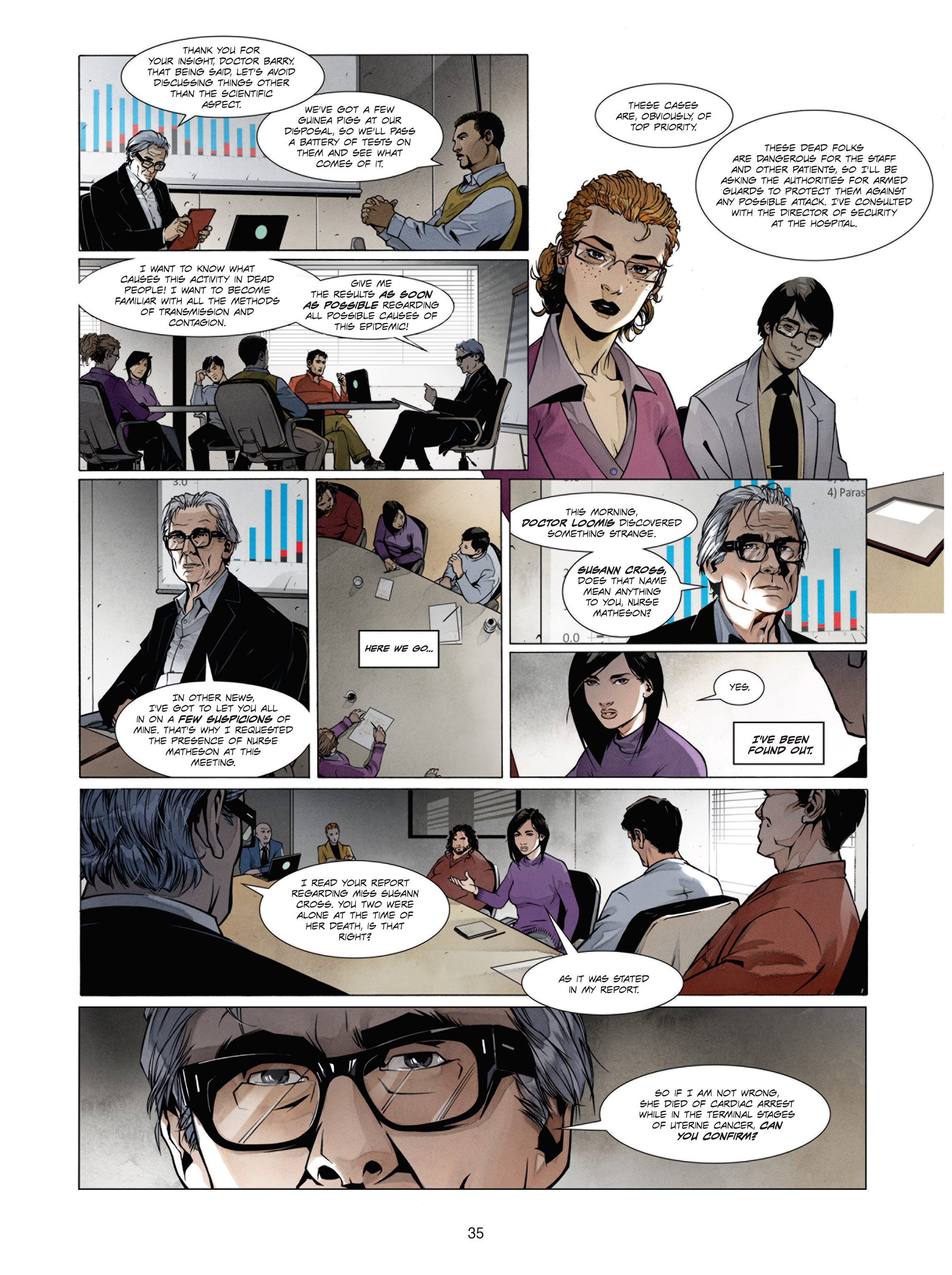 Read online Alice Matheson comic -  Issue #1 - 34