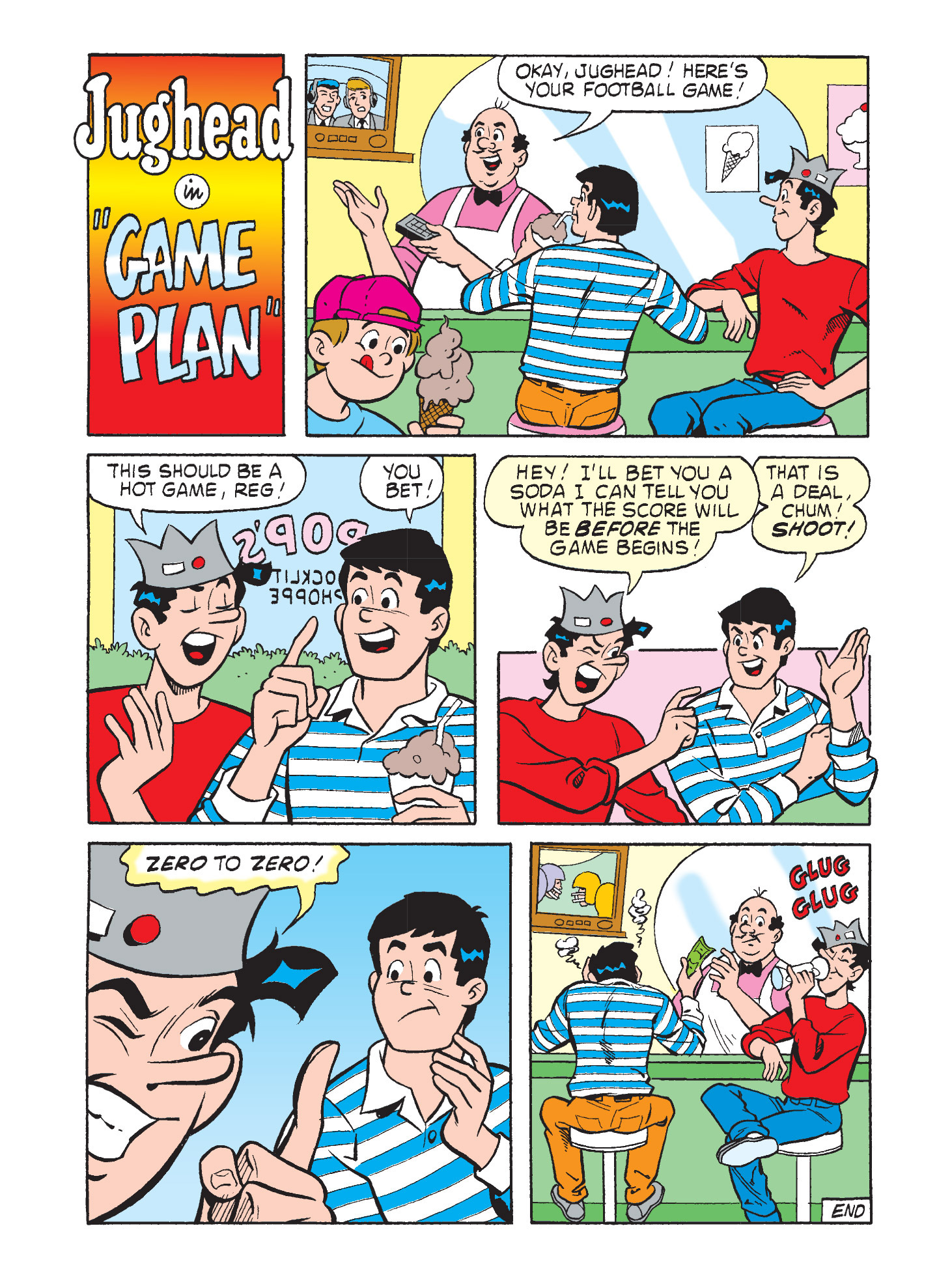 Read online Archie's Funhouse Double Digest comic -  Issue #9 - 61