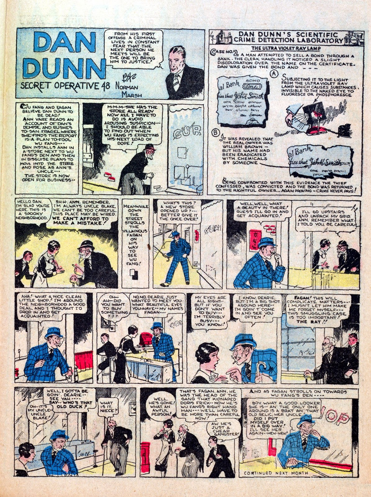 Read online Famous Funnies comic -  Issue #7 - 49