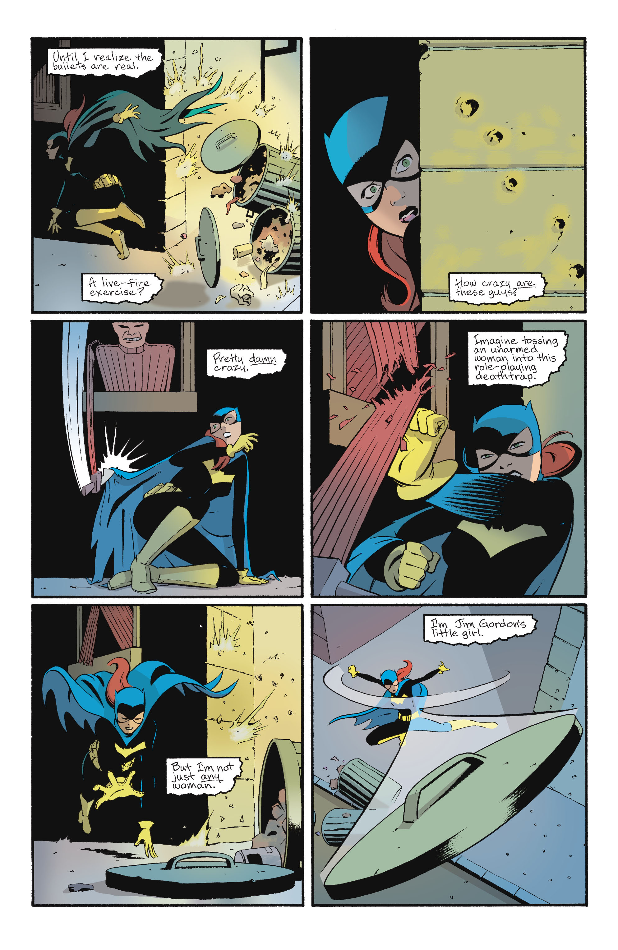 Read online Batgirl/Robin: Year One comic -  Issue # TPB 2 - 76