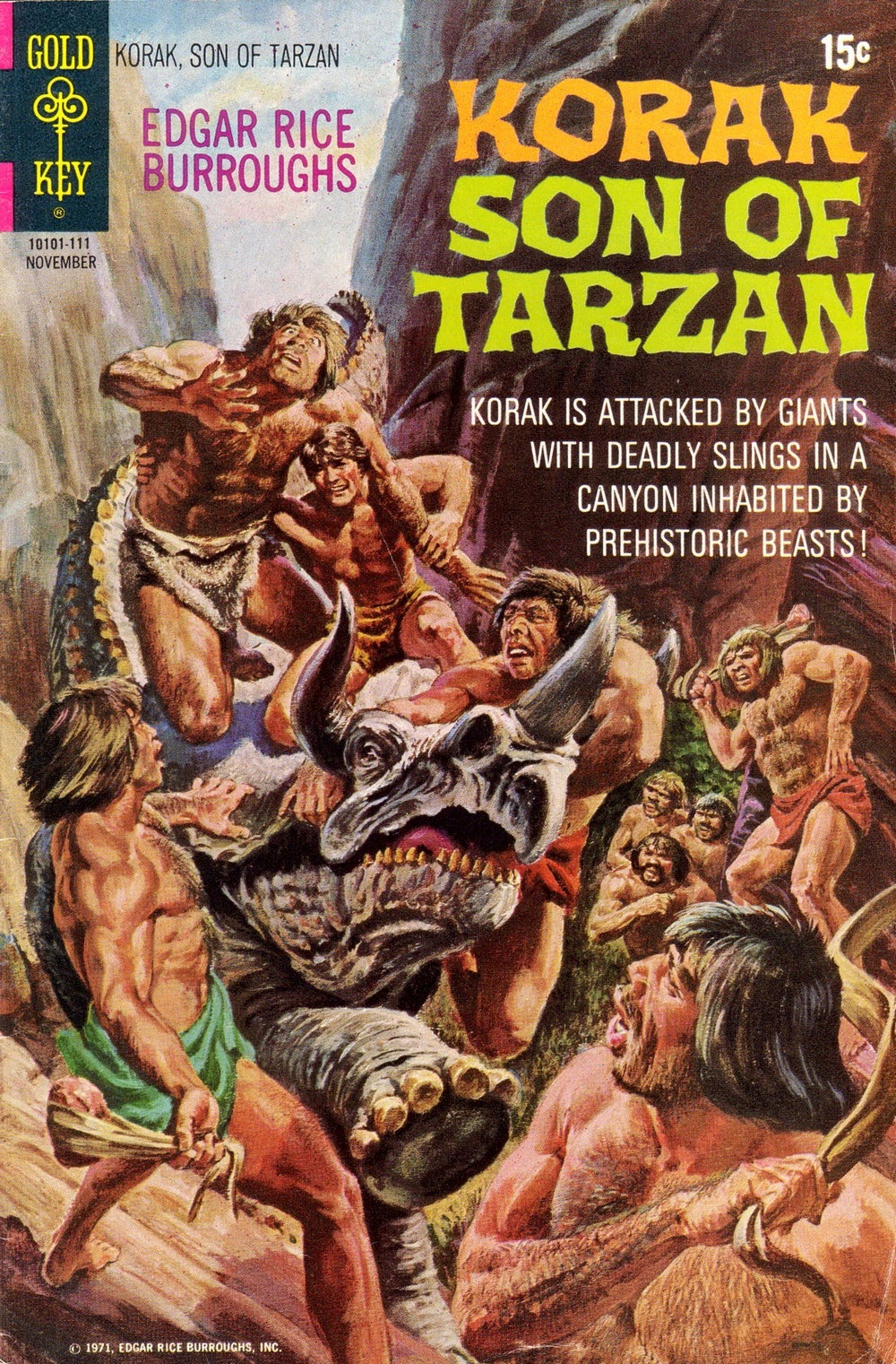 Korak, Son of Tarzan (1964) issue 44 - Page 1