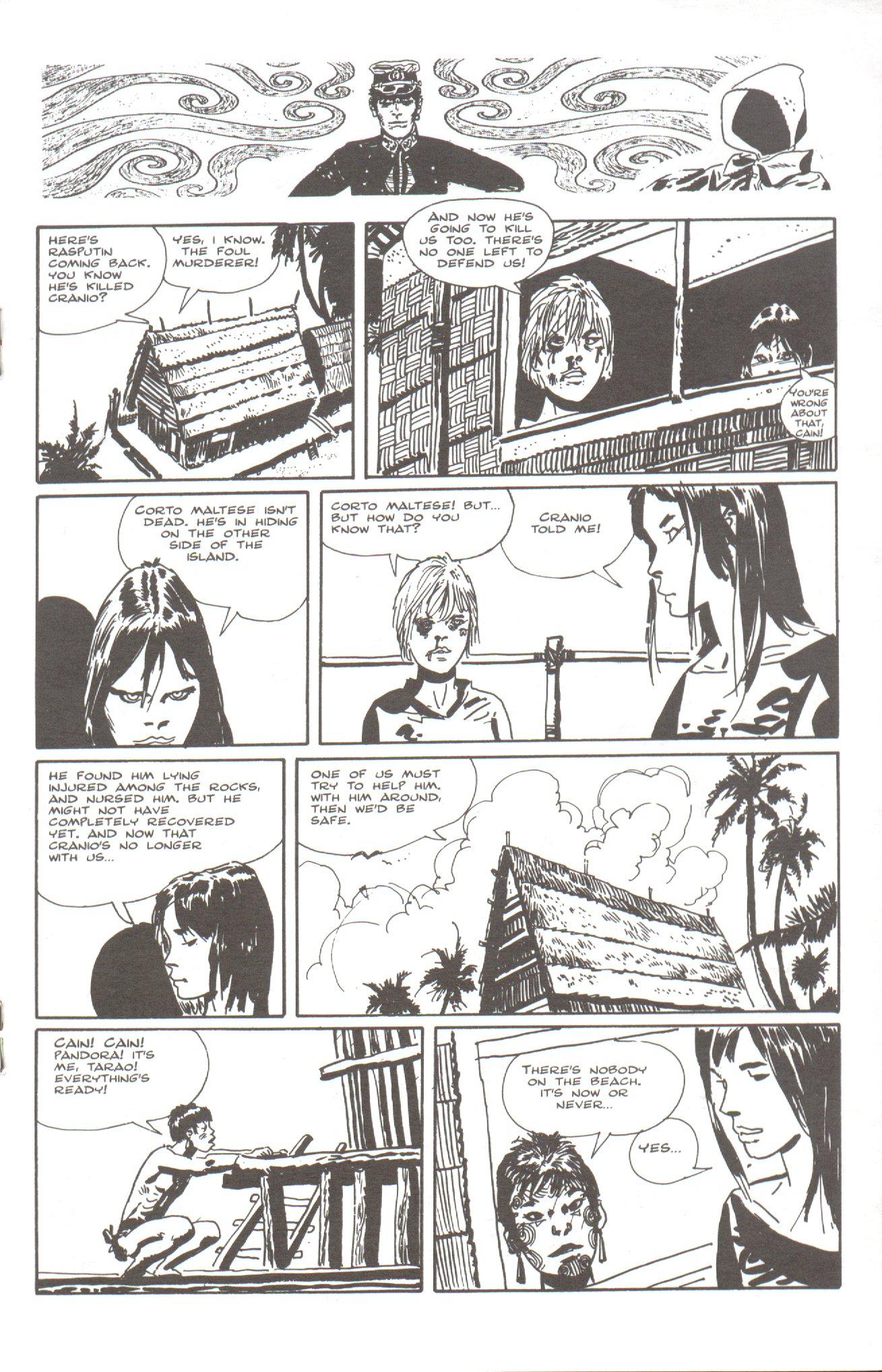 Read online Corto Maltese: Ballad of the Salt Sea comic -  Issue #5 - 15